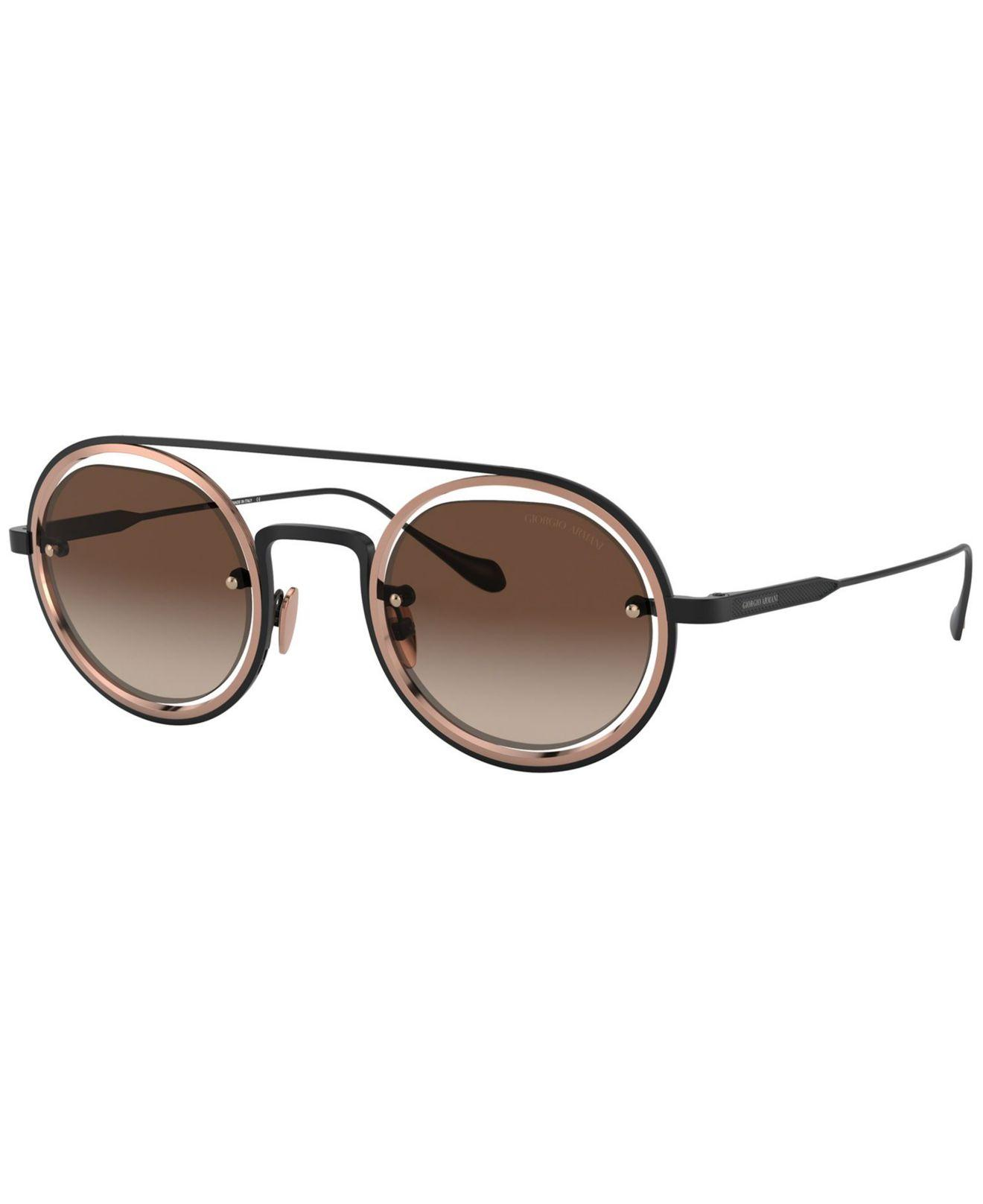 a210fac4abe Giorgio Armani. Women s Brown Sunglasses ...