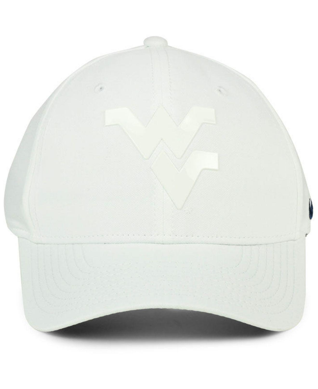 2322634593f8b ... cheapest lyst nike west virginia mountaineers col cap in white for men  3d8db 681e8