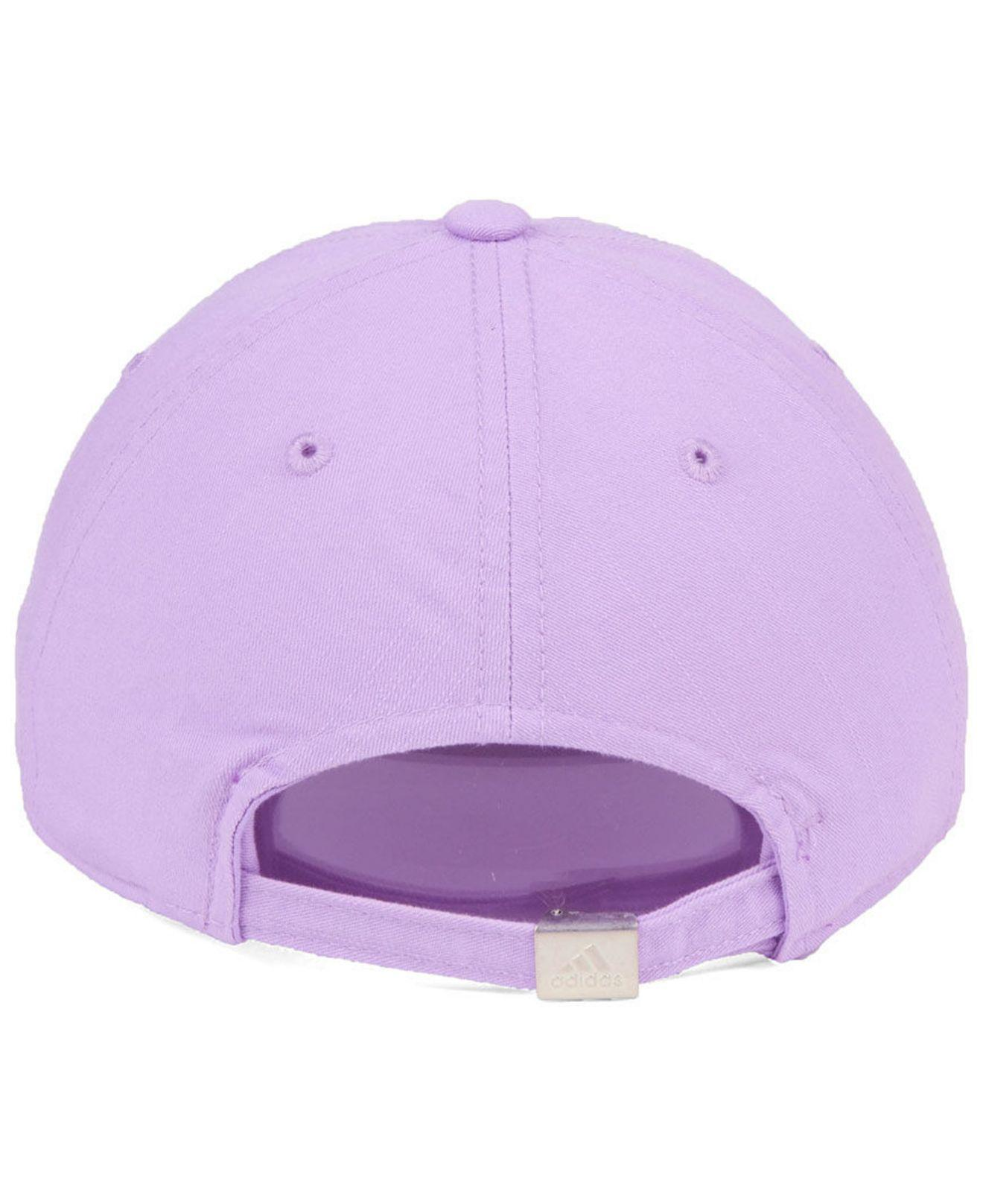 uk availability 7d64e cc534 ... where to buy adidas purple orlando city sc pink slouch cap lyst. view  fullscreen effb9