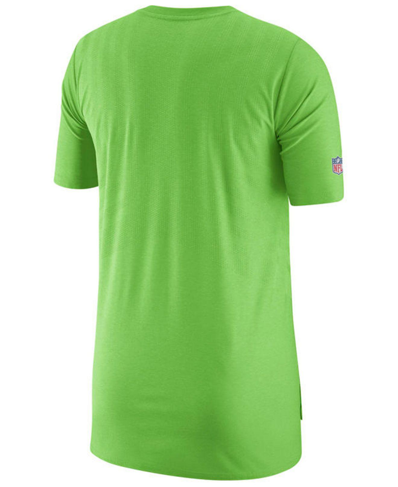 9d3a7c87b Lyst - Nike Seattle Seahawks Player Top T-shirt 2018 in Green for Men