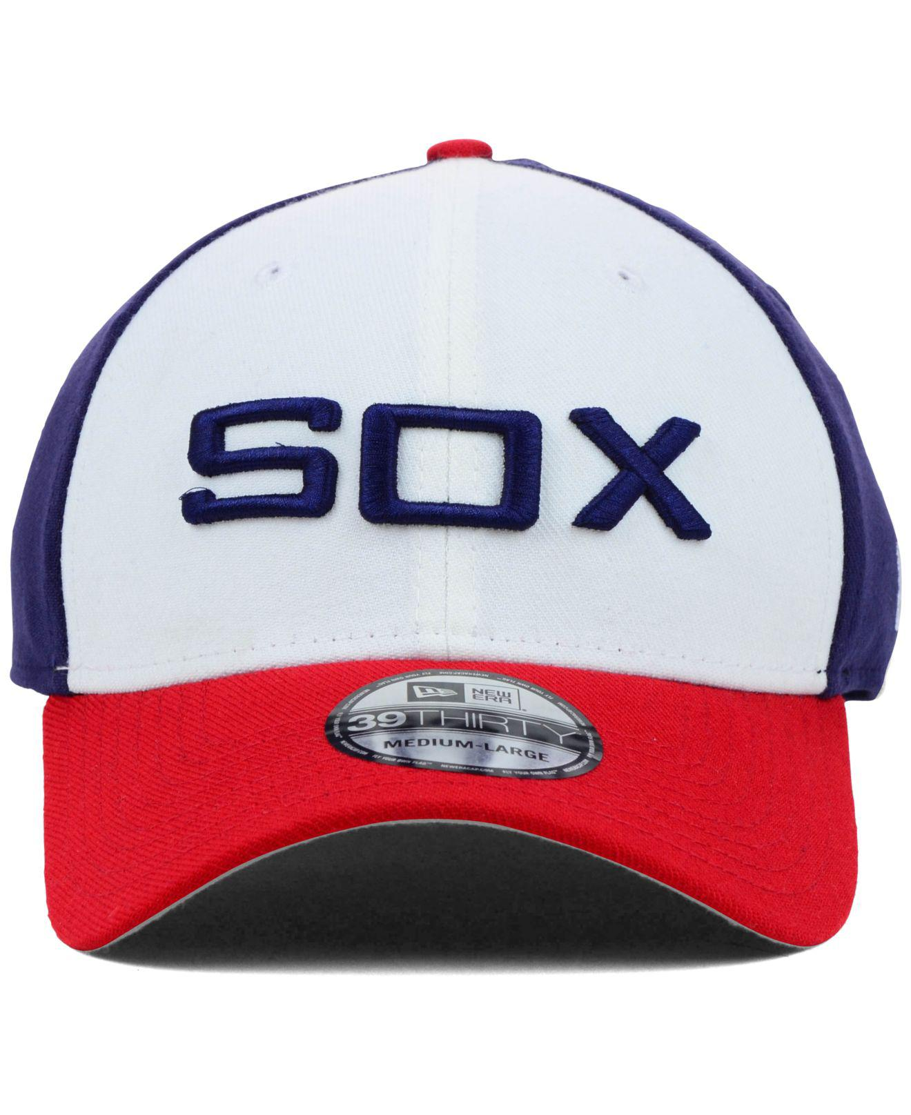 watch 5d7df 6dc20 Lyst - KTZ Chicago White Sox Mlb Team Classic 39thirty Cap in White for Men