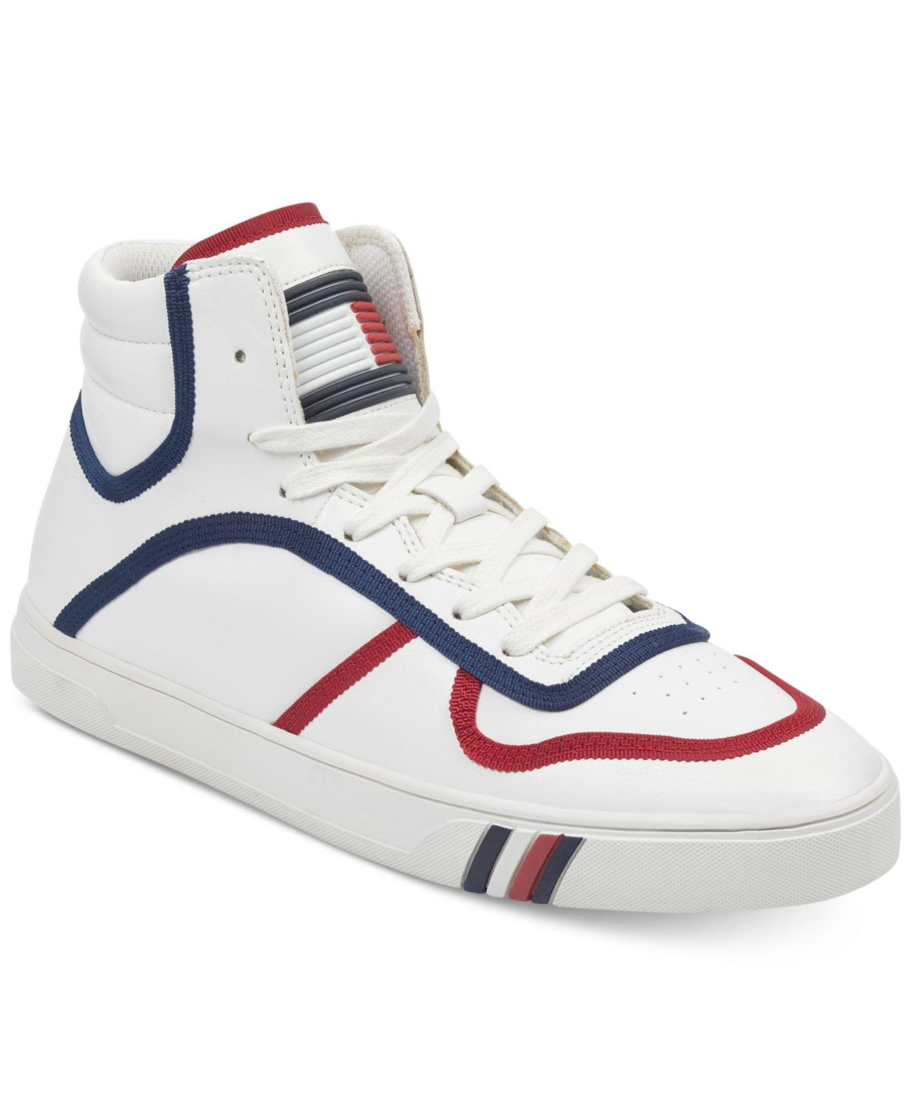 b744274ec Tommy Hilfiger Japan High Top Sneakers in White for Men - Lyst