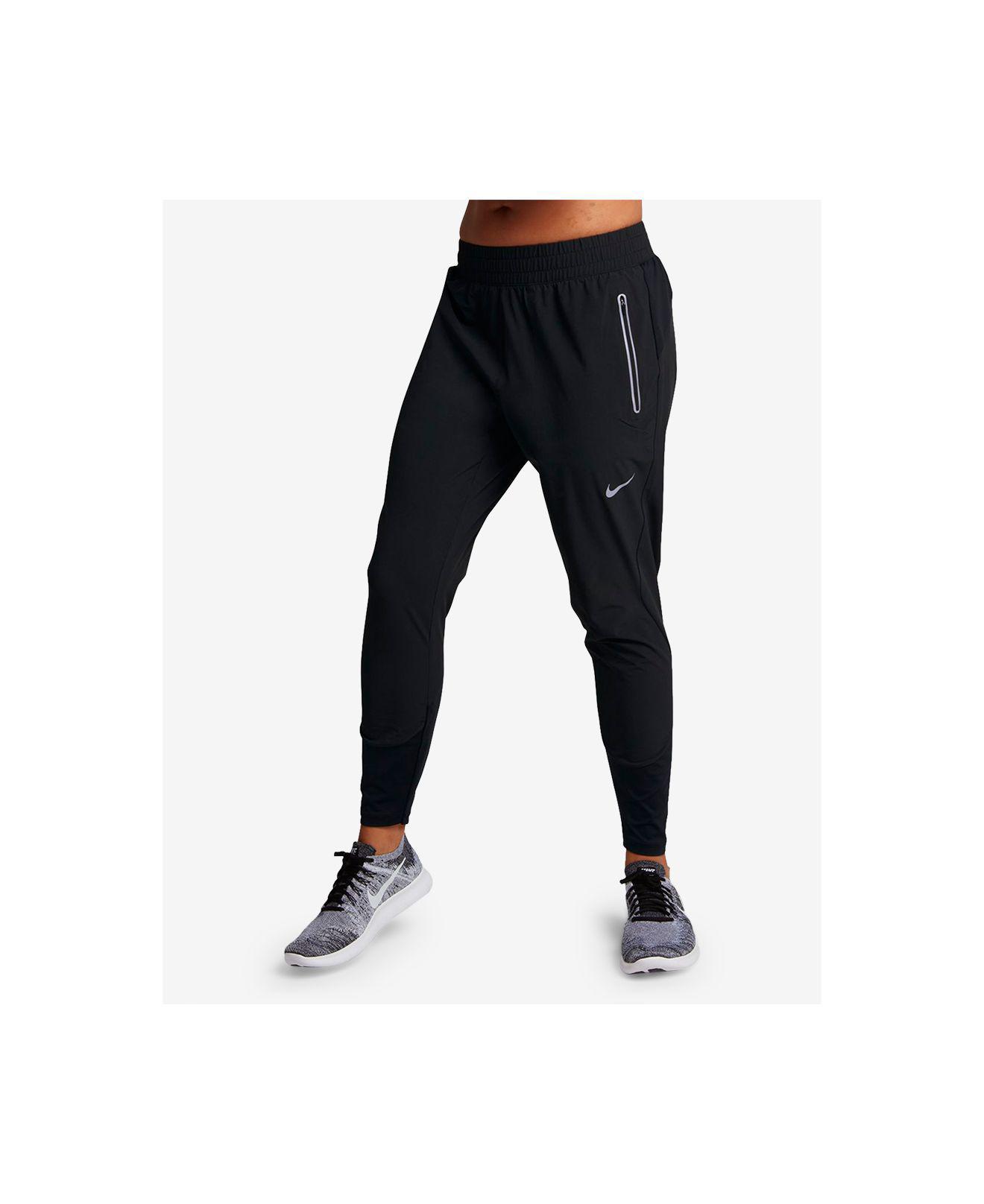be0d5cdd720c6 Lyst - Nike Flex Swift Dri-fit Running Pants in Black