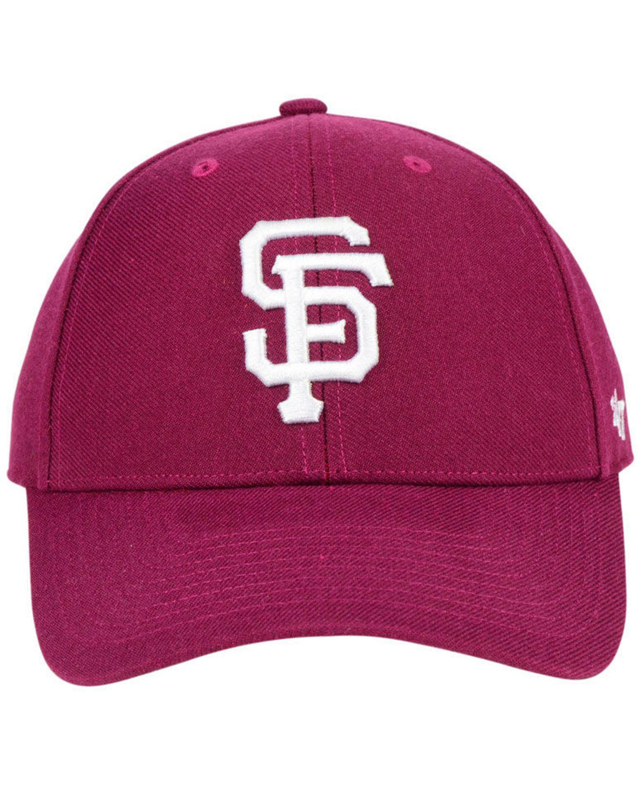 new product d0211 8dbbd where can i buy lyst 47 brand san francisco giants cardinal mvp cap in red  for