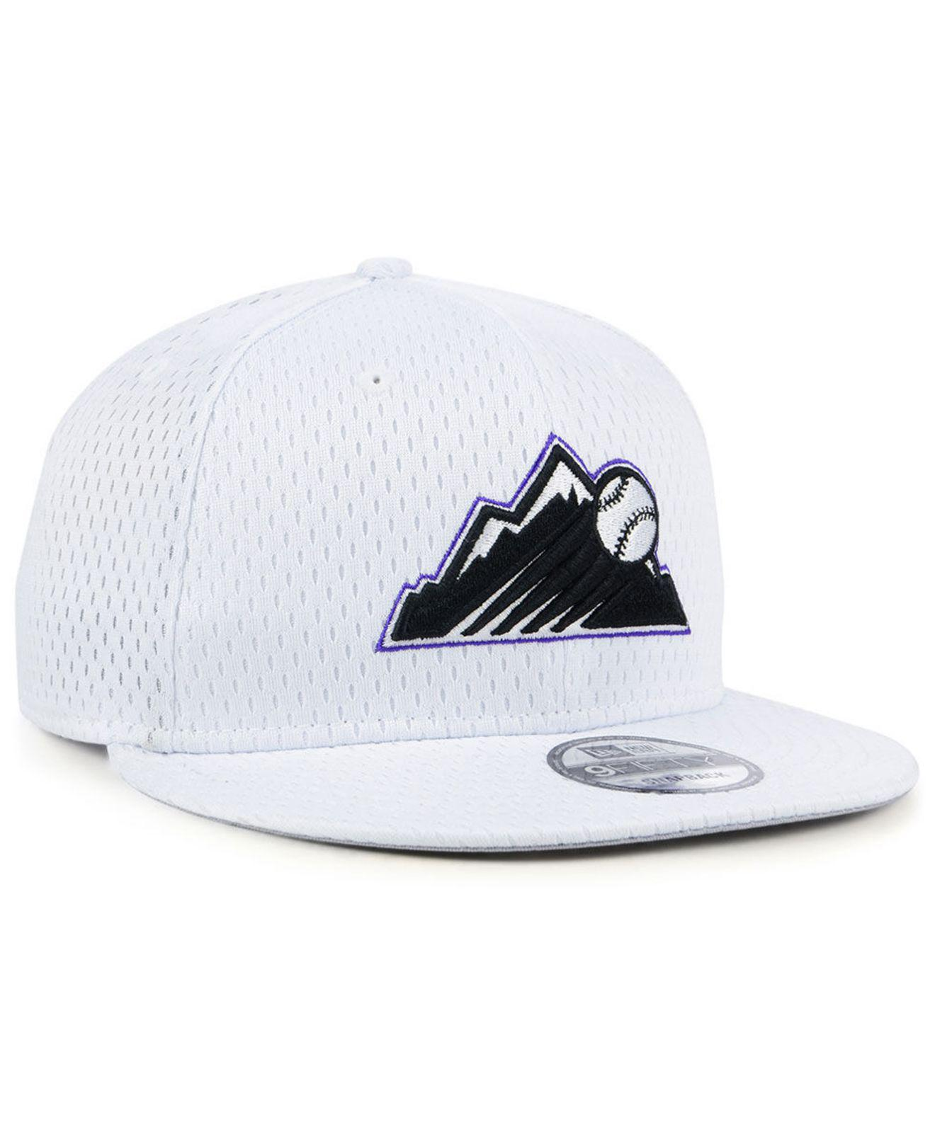 on sale 38e9f 80c01 low cost mens colorado rockies new era black 2019 batting practice 9twenty  adjustable hat 9d3ae c80ac  australia lyst ktz colorado rockies batting  practice ...