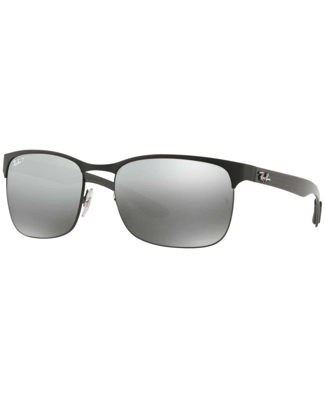 a3c40fc955 Ray-Ban. Men s Gray Polarized Sunglasses
