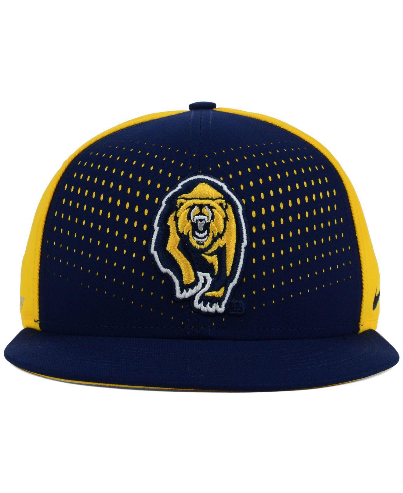 5953ab26 ... shopping lyst nike california golden bears true seasonal snapback cap  in blue for men 05141 72af5
