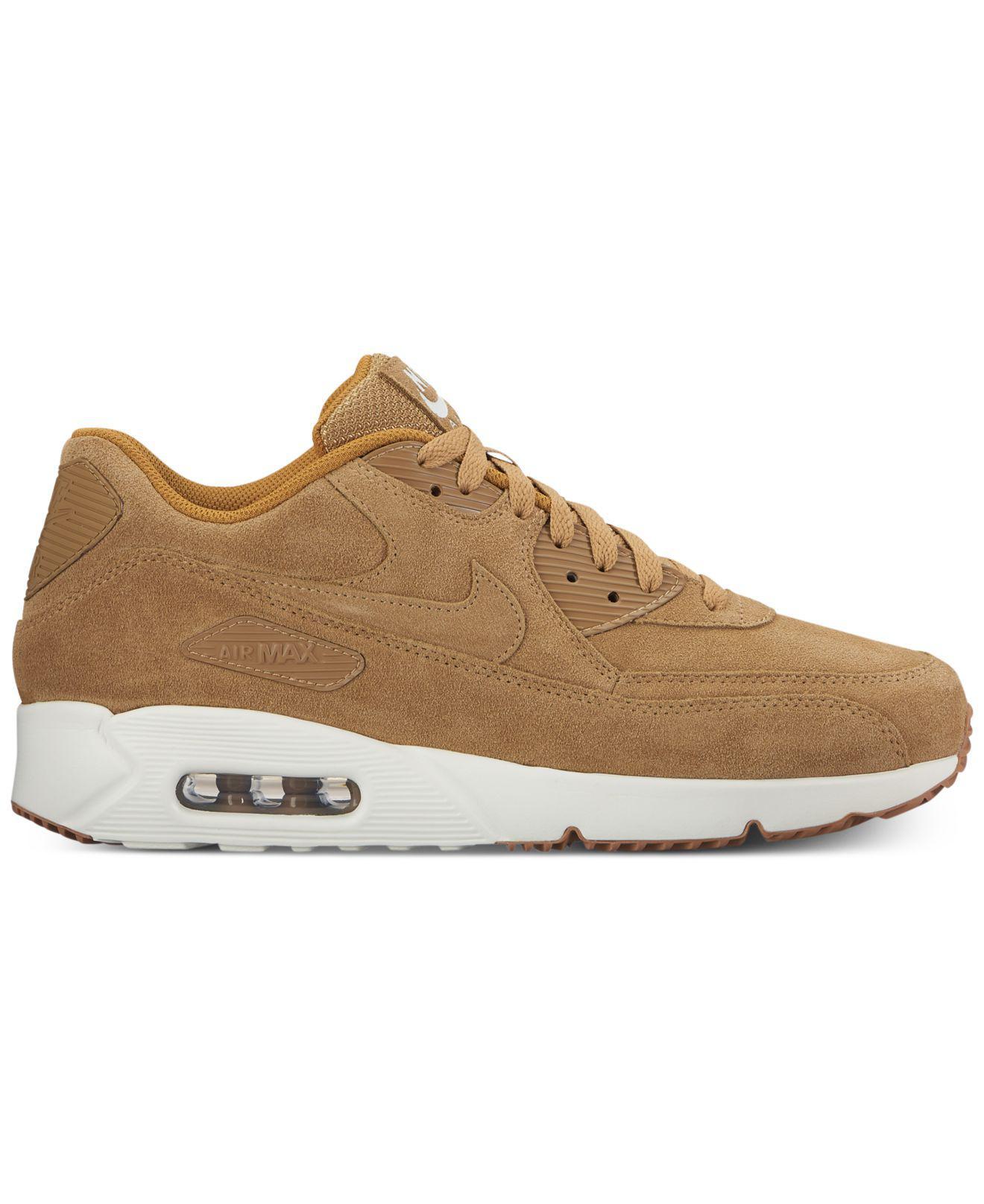 Lyst Nike Hombres Air En Max 90 Ultra Casual Zapatillas En Air Cuero 5eb691