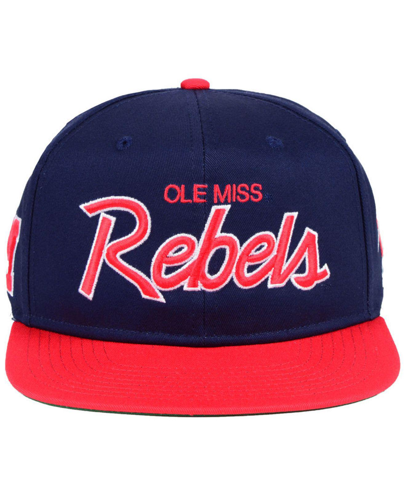 67ec2f155e1f7 1a7dc 9ebfb  get lyst nike ole miss rebels sport specialties snapback cap  in blue for men 20206 eac82