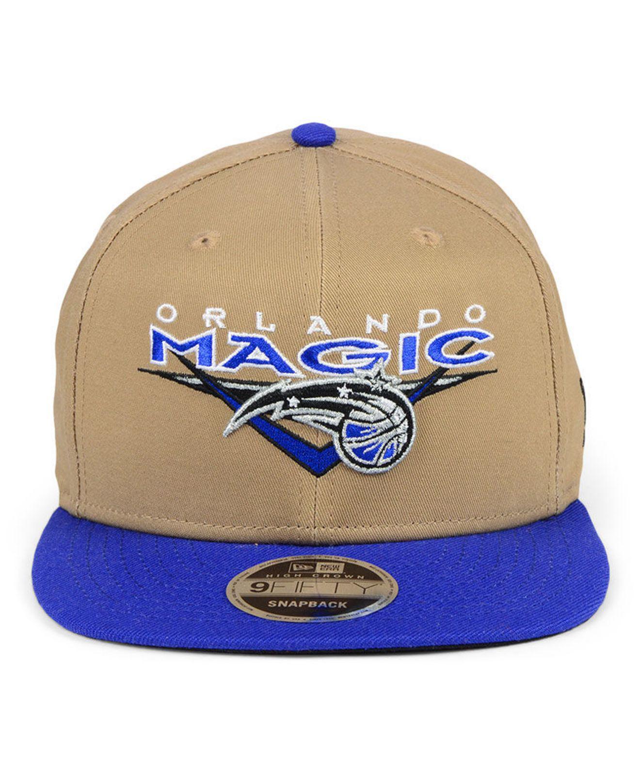 huge selection of b1d36 14324 Lyst - KTZ Orlando Magic Jack Knife 9fifty Snapback Cap in Blue for Men