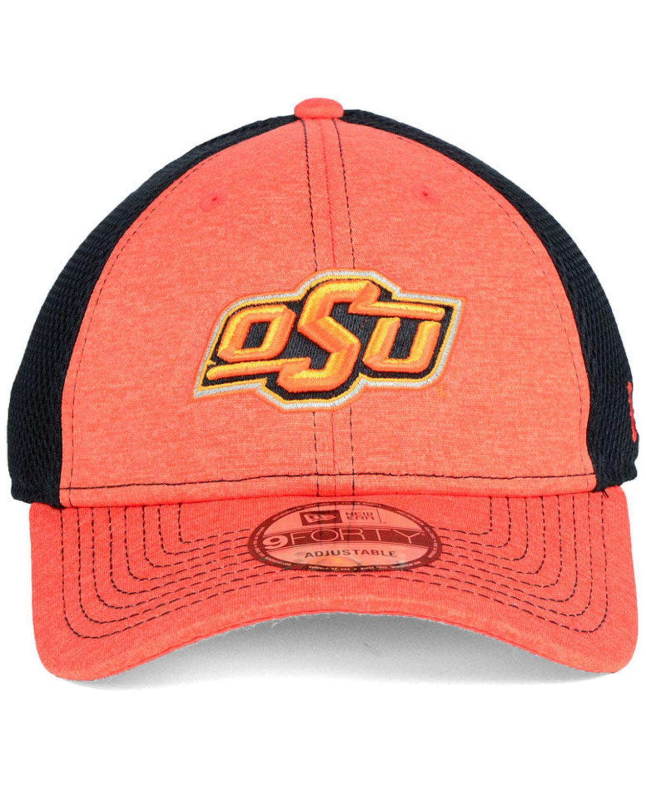 outlet store b8d66 f8cea Lyst - KTZ Oklahoma State Cowboys Shadow Turn 9forty Cap in Orange for Men