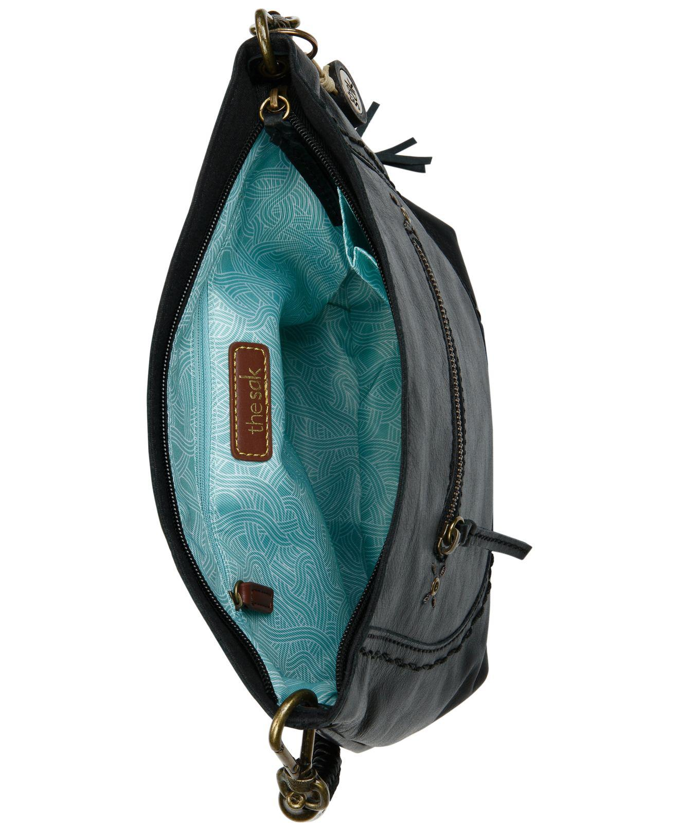 3247f51433 Lyst - The Sak Sequoia Leather Hobo in Black - Save 30%