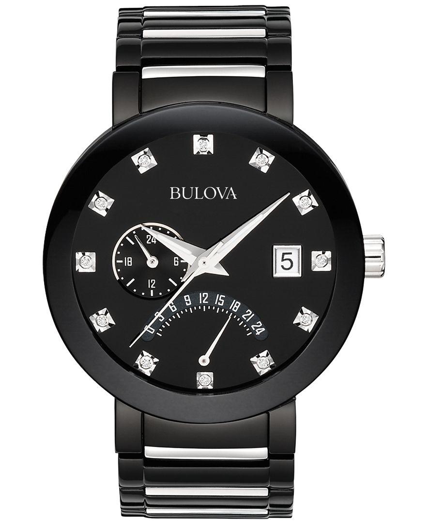 Bulova Diamond Watch Macys