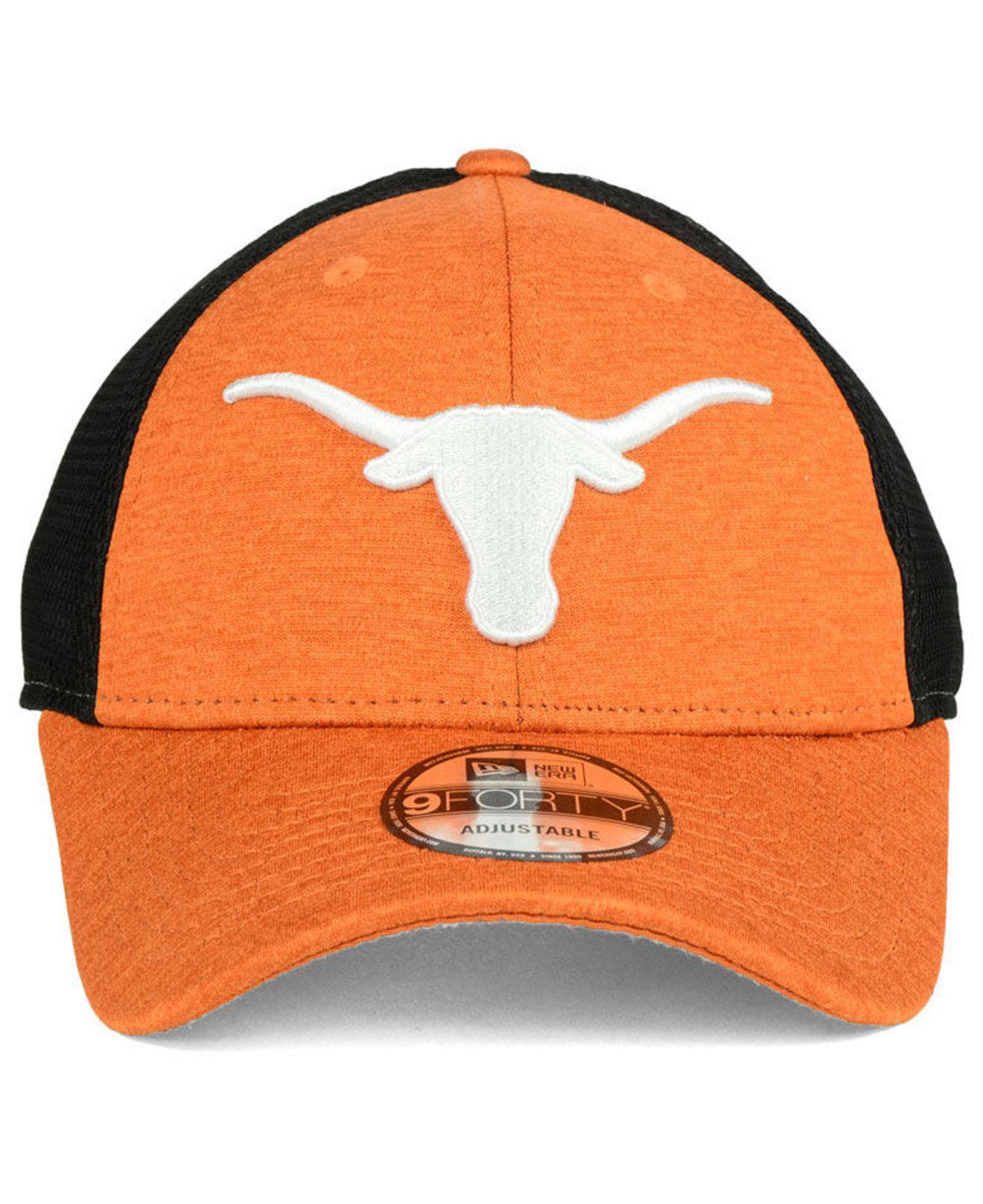 newest 2e7b5 70658 ... germany lyst ktz texas longhorns tech trim 9forty cap in orange for men  5da85 61558