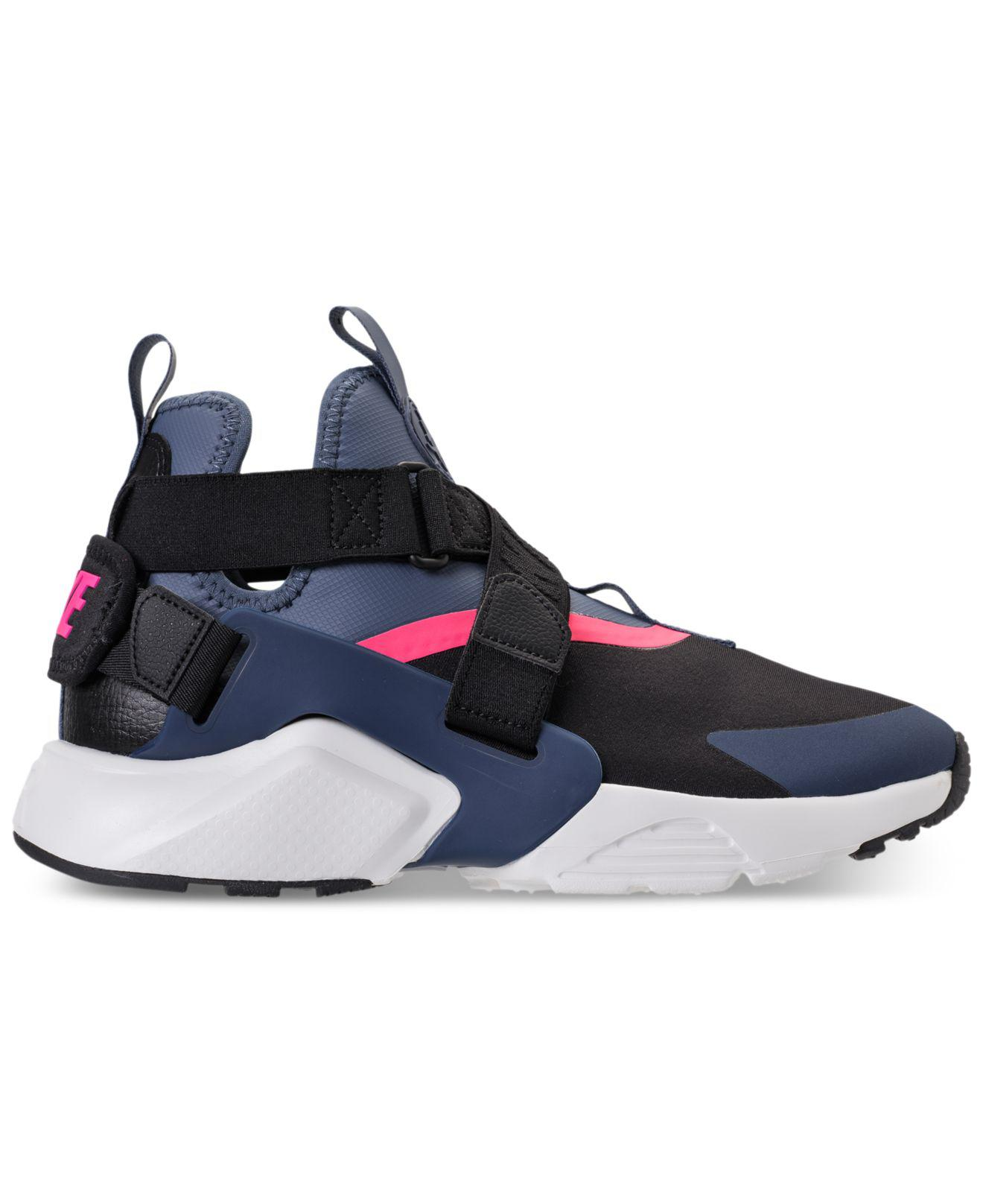 17fee1971d63 ... germany lyst nike air huarache city casual sneakers from finish line in  blue 053e6 b2fed
