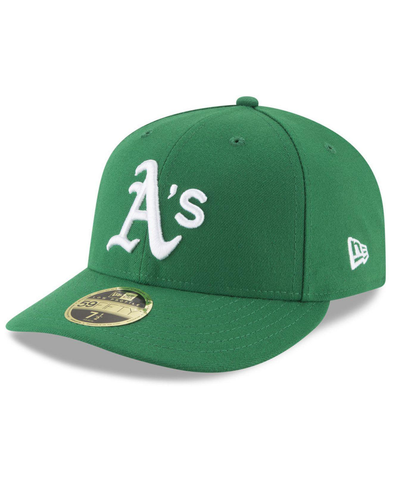 separation shoes 6ad80 4a35c ... discount code for ktz. mens green oakland athletics low profile ac  performance 59fifty fitted cap