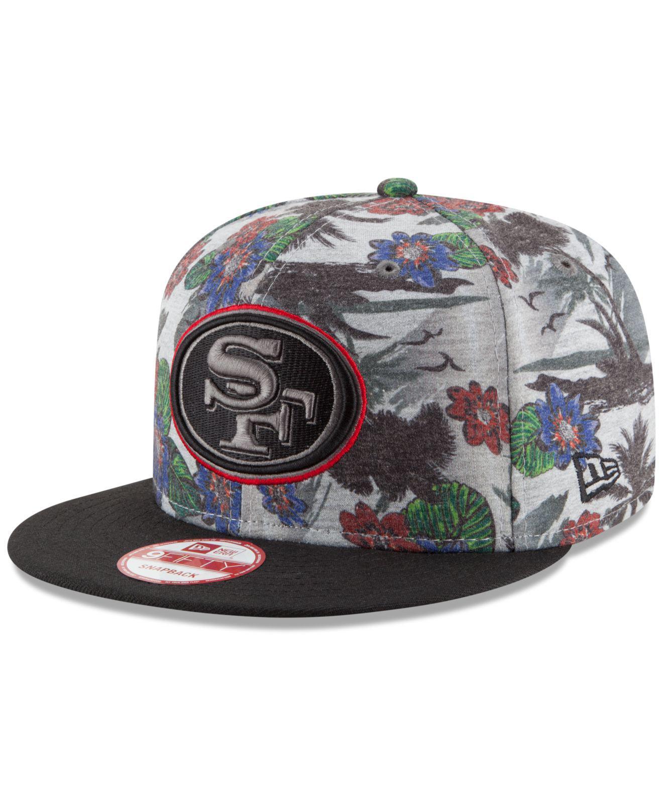 size 40 710c6 ab32f ... good lyst ktz san francisco 49ers cool breeze trop 9fifty snapback cap  98f0e 12a9a