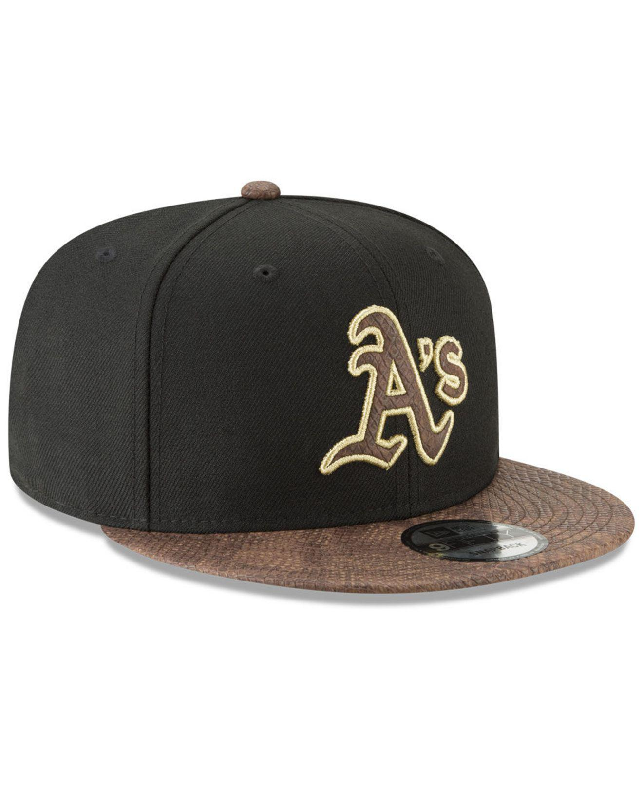 the latest 344a3 1d643 clearance lyst ktz oakland athletics cdub 59fifty cap in red for men 9dbed  3624d  canada oakland athletics gold snake 9fifty snapback cap for men lyst.  view ...
