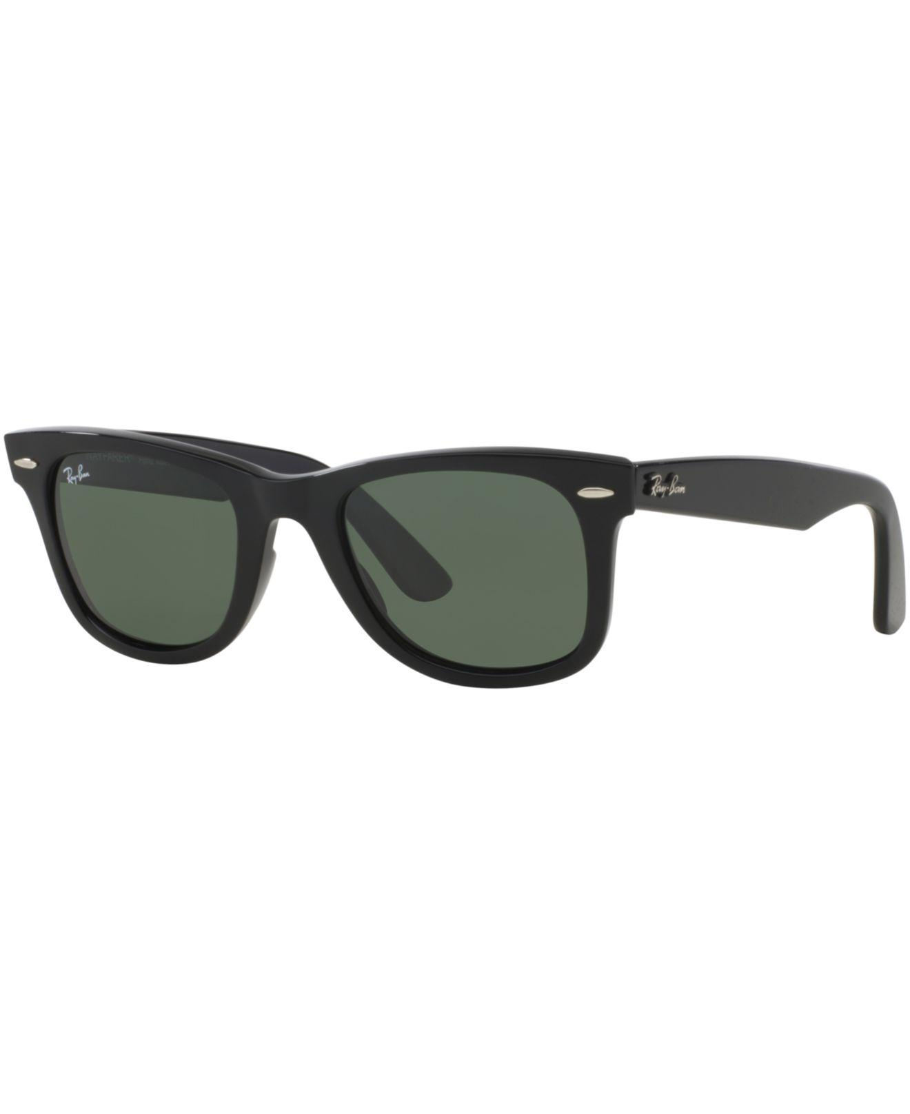 50cc97fbf24 Lyst - Ray-Ban Unisex Rb2140 Original Wayfarer Polarized Sunglasses ...