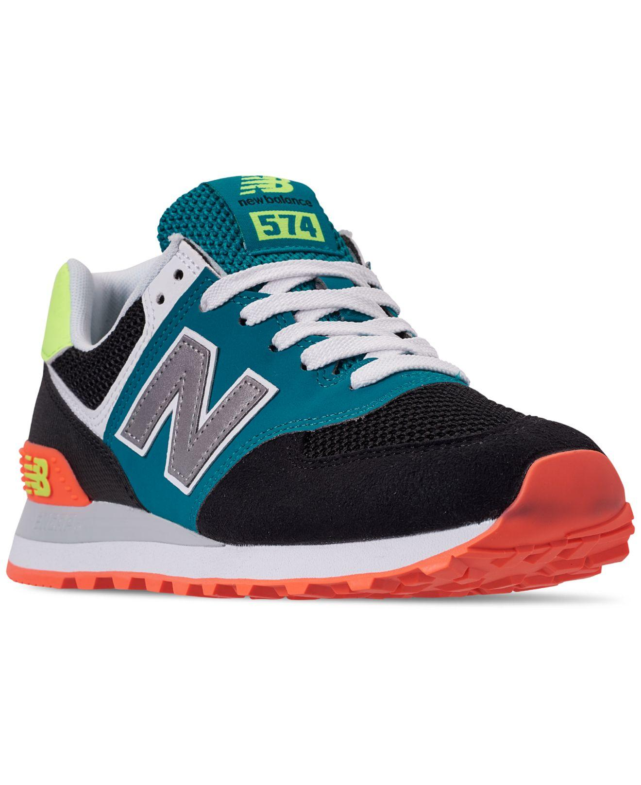 3d8f31f338582 New Balance - Multicolor 574 Casual Sneakers From Finish Line - Lyst. View  fullscreen