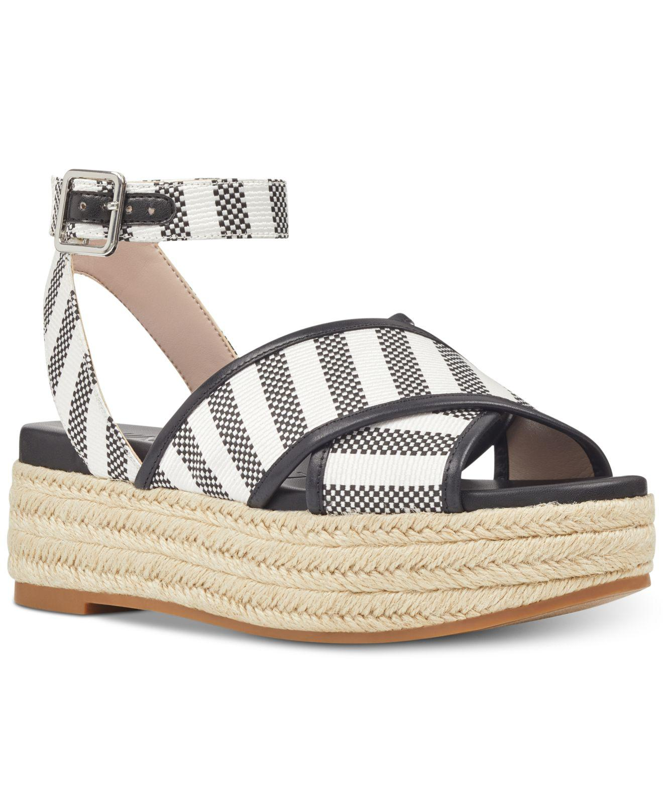 2a687994e869 Lyst - Nine West Showrunner Wedge Sandals