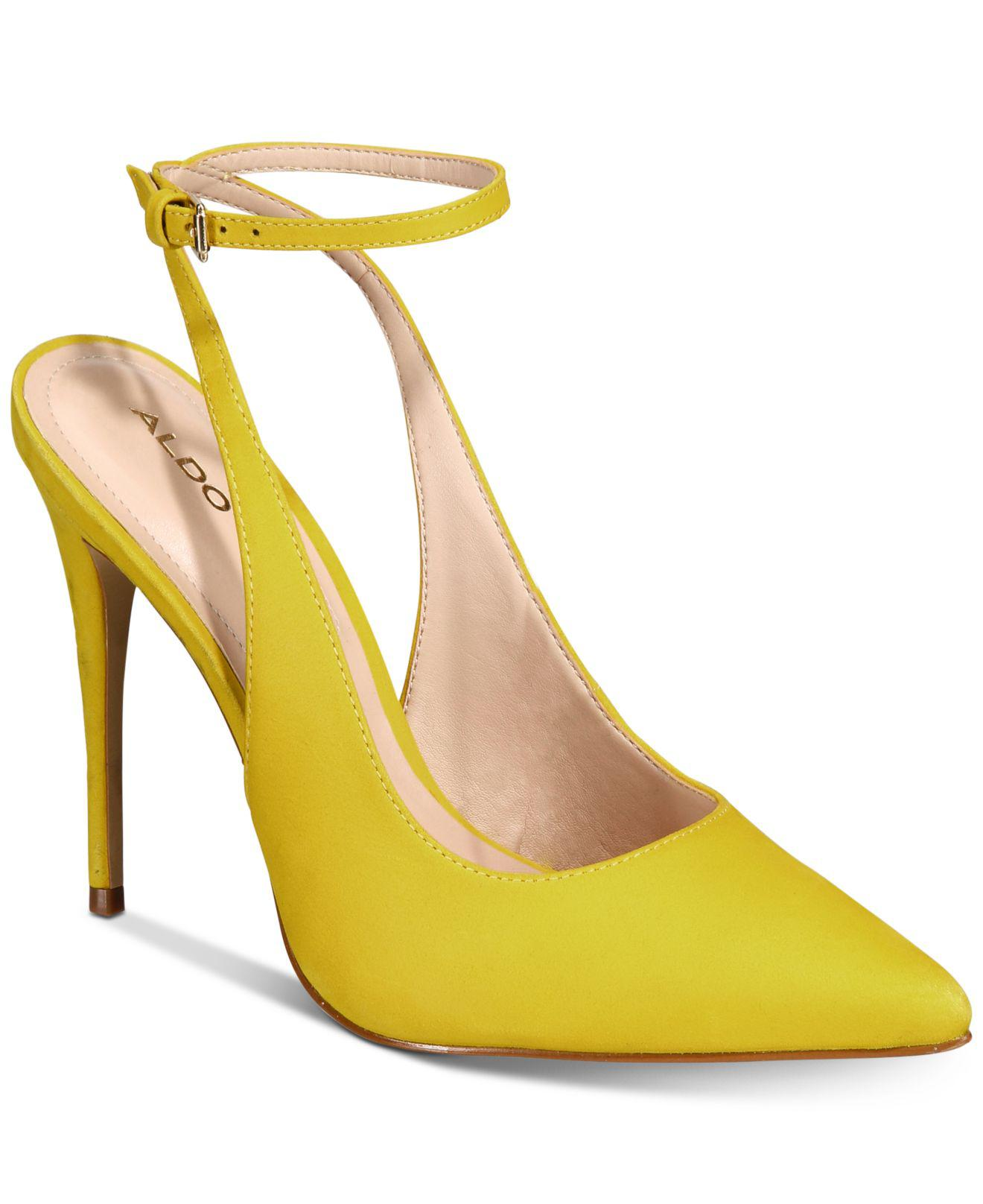 d575ae9c8a60 Lyst - ALDO Arobeth Pumps in Yellow