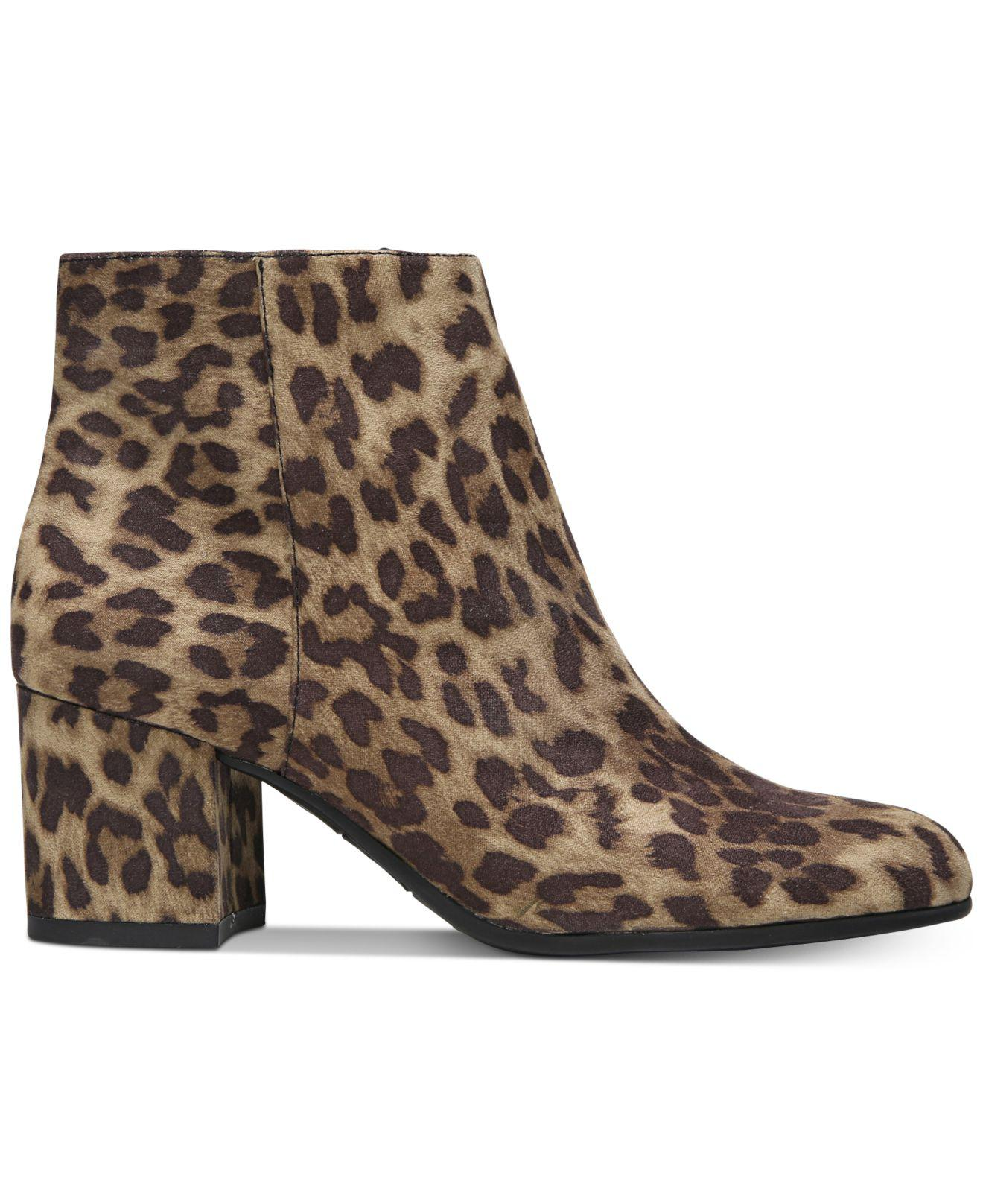 e1b3fb584a0f86 Lyst - Circus By Sam Edelman Vikki Block-heel Booties in Brown