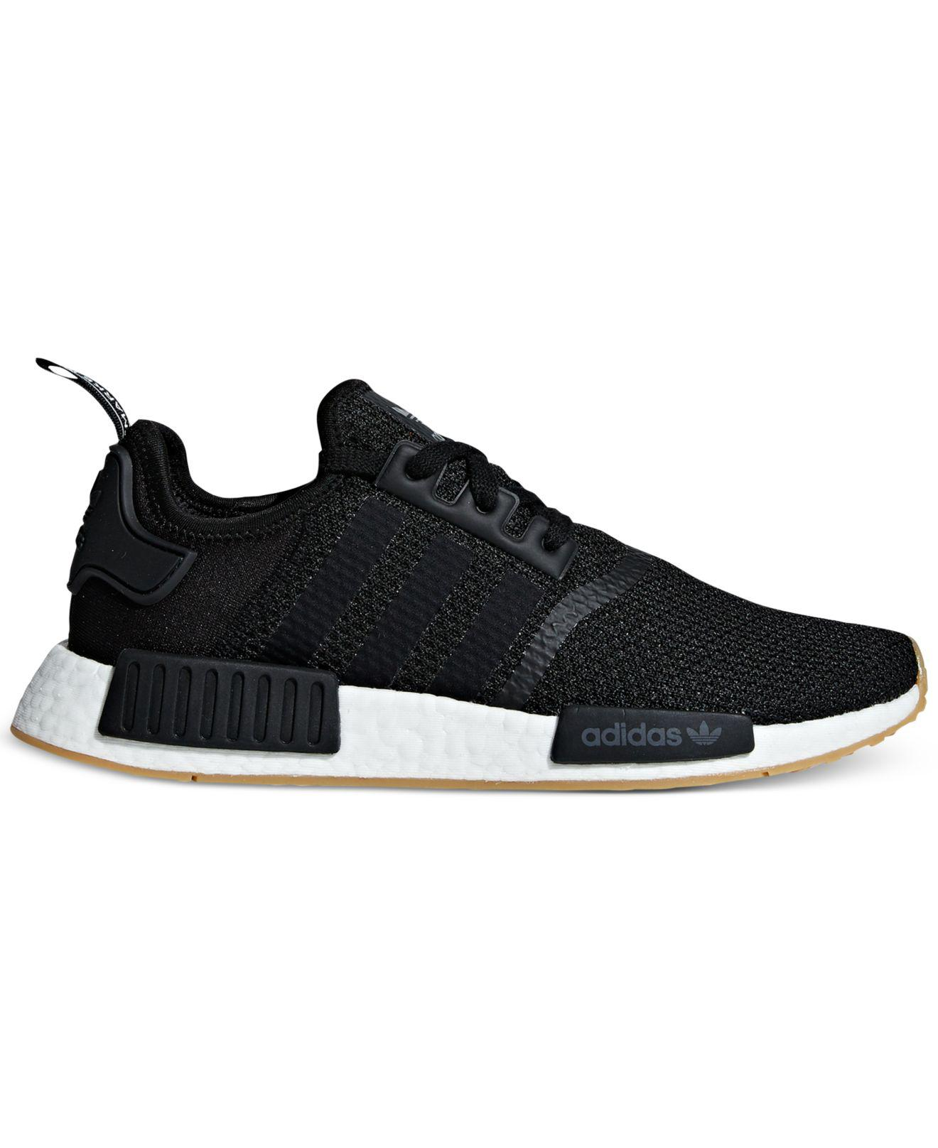 22941c921 Adidas - Black Nmd R1 Casual Sneakers From Finish Line for Men - Lyst. View  fullscreen