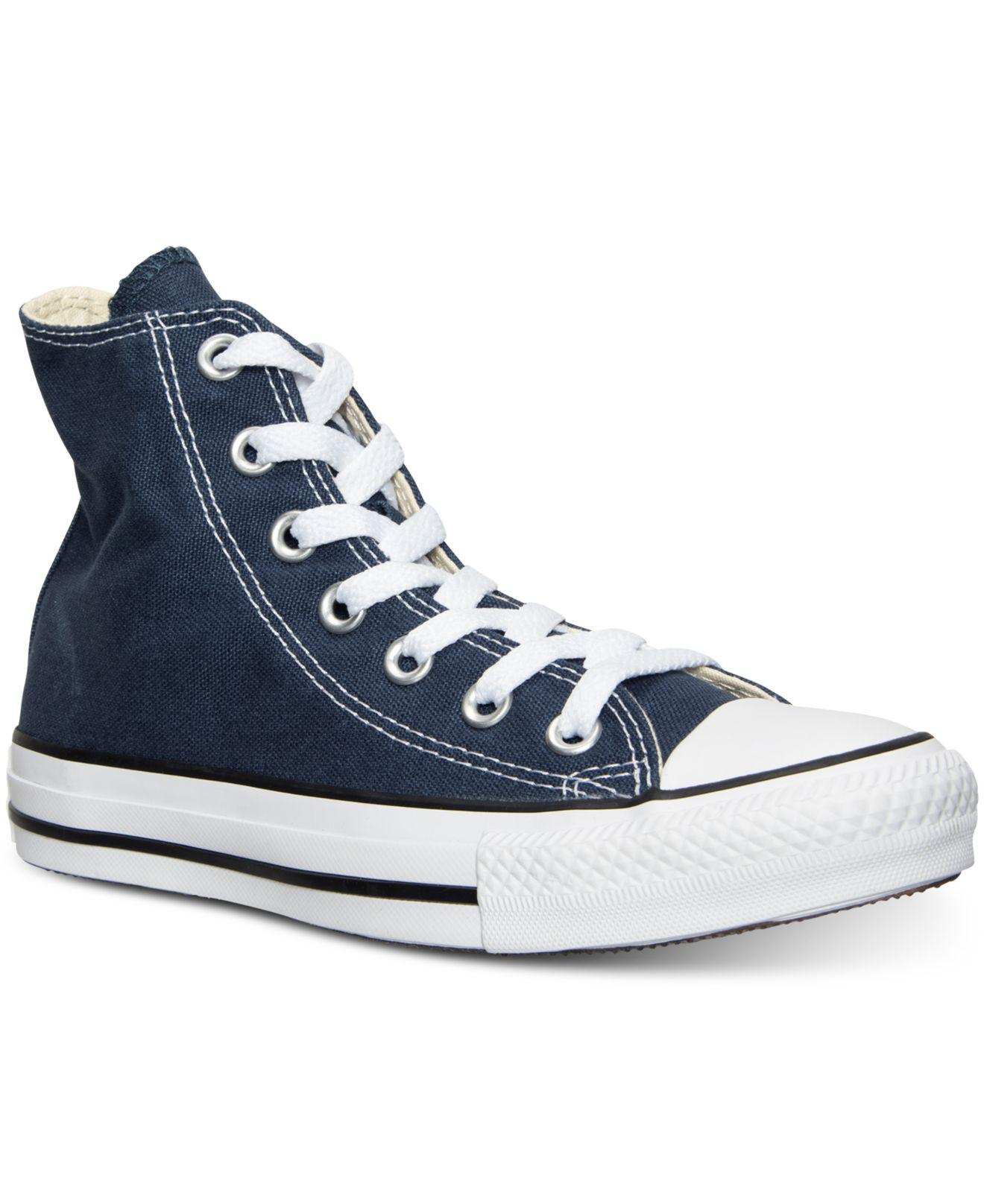 106da1f7fb96 Lyst - Converse Chuck Taylor Hi Casual Sneakers From Finish Line in Blue