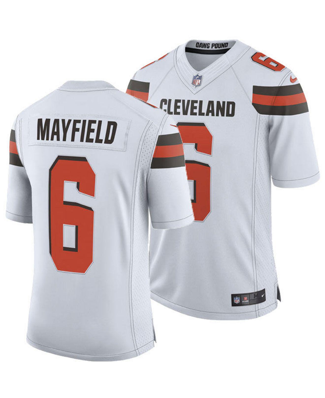 brand new 441fc a274c Nike Baker Mayfield Cleveland Browns Limited Jersey in White ...