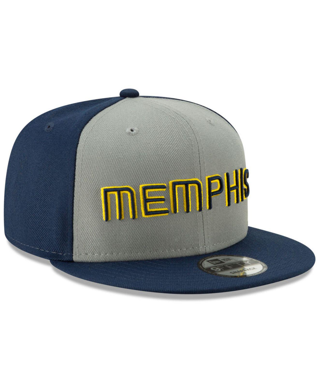 new arrival 9e3fc 362bb KTZ. Men s Blue Memphis Grizzlies City Series 2.0 9fifty Snapback Cap