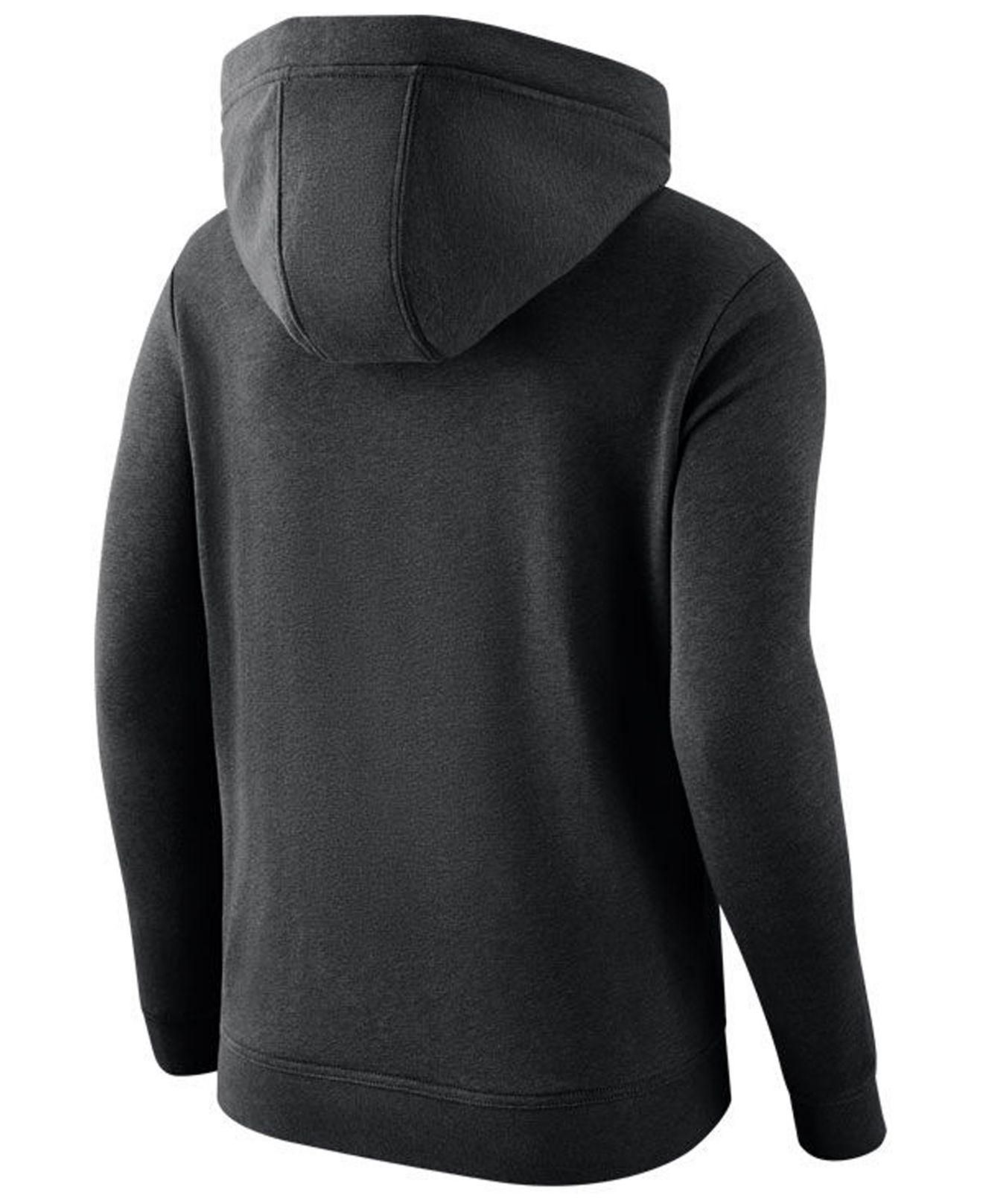new product b6715 f7228 Lyst - Nike Carolina Panthers Club Pullover Hoodie in Black