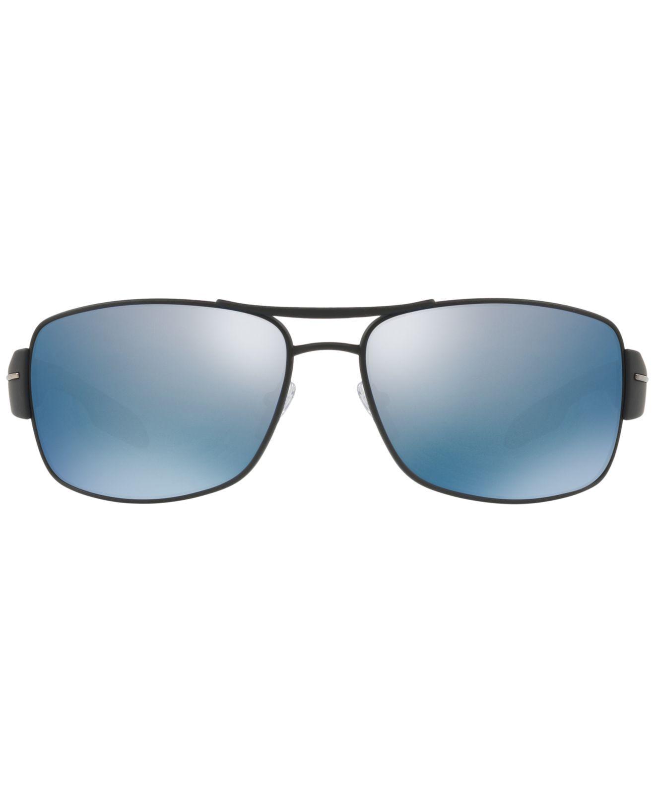 cdef1520fc919 Lyst - Prada Polarized Sunglasses