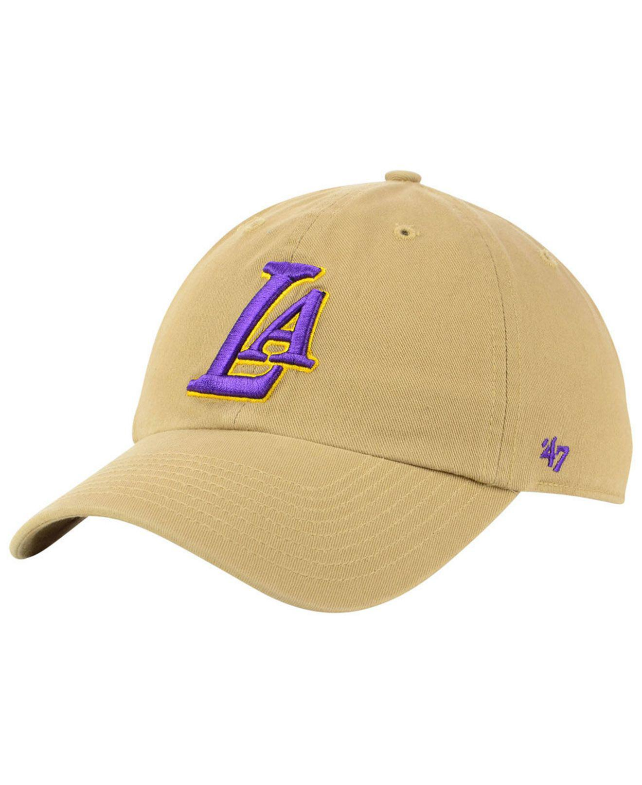 86d75efbd7d6f 47 Brand Los Angeles Lakers Mash Up Clean Up Cap for Men - Lyst