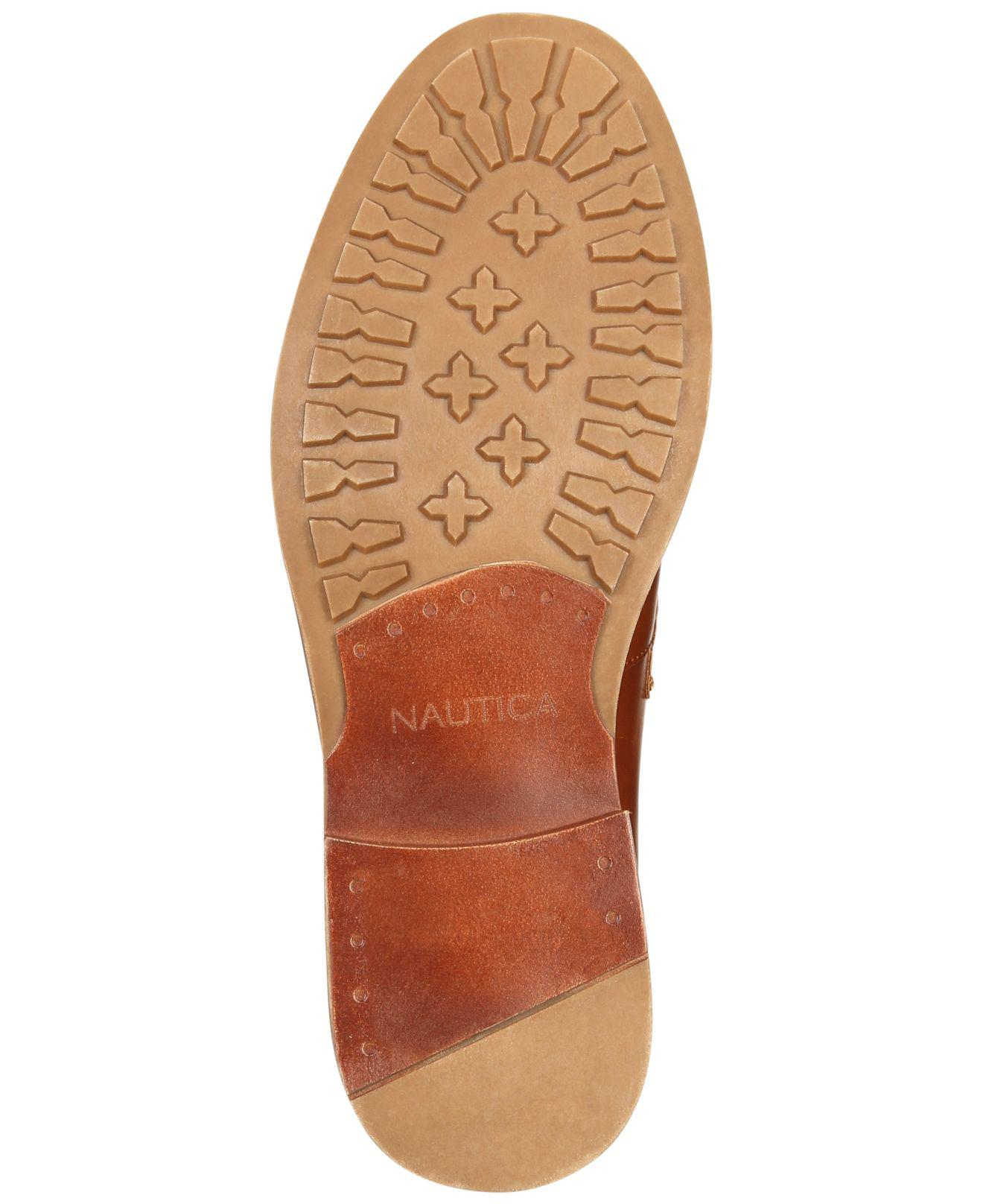 0d7638f6ccf Lyst - Nautica Elias Penny Loafers in Brown for Men