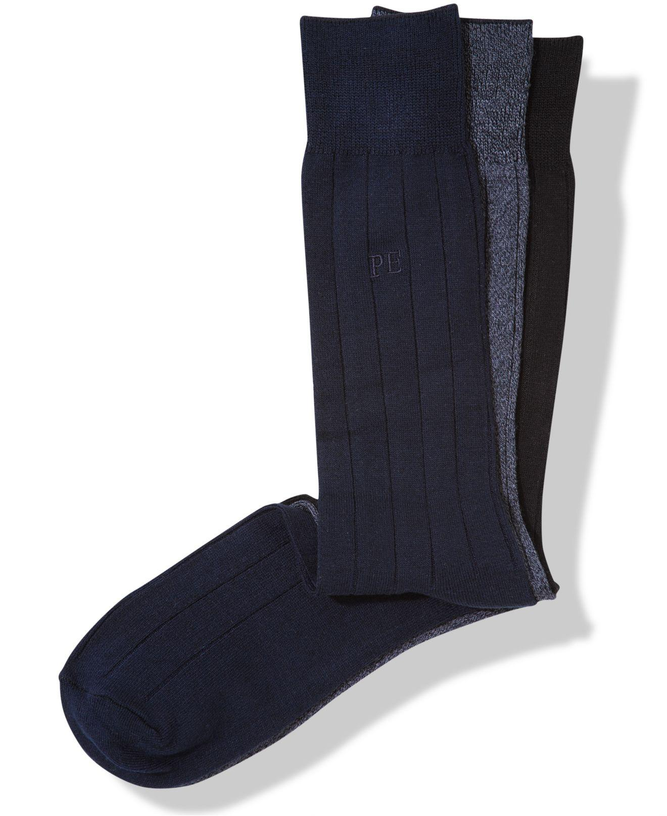 003d1f44ed Perry Ellis. Men s Blue Socks