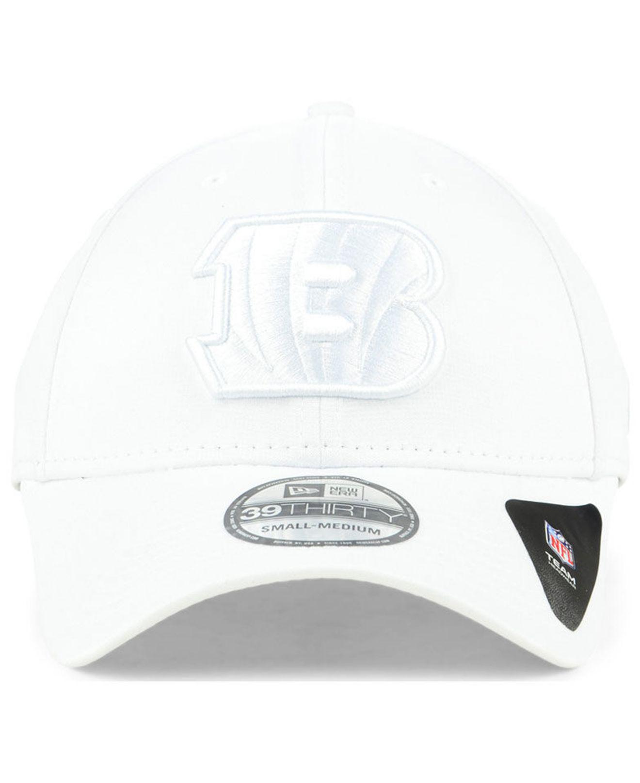 Lyst - Ktz Cincinnati Bengals Tonal Heat 39thirty Cap in White for Men -  Save 13.793103448275858% 0ef10499ea22