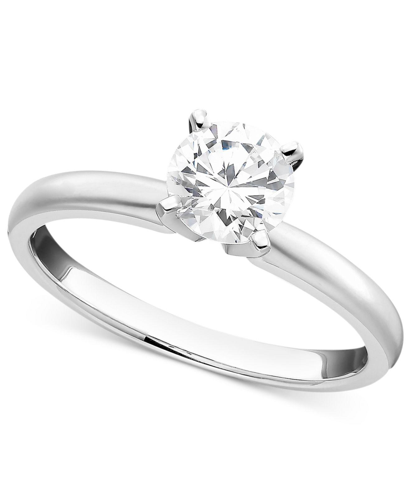 colorless with knife edge diamond petite center engagement product solitaire princess ring cut shown rings carat a