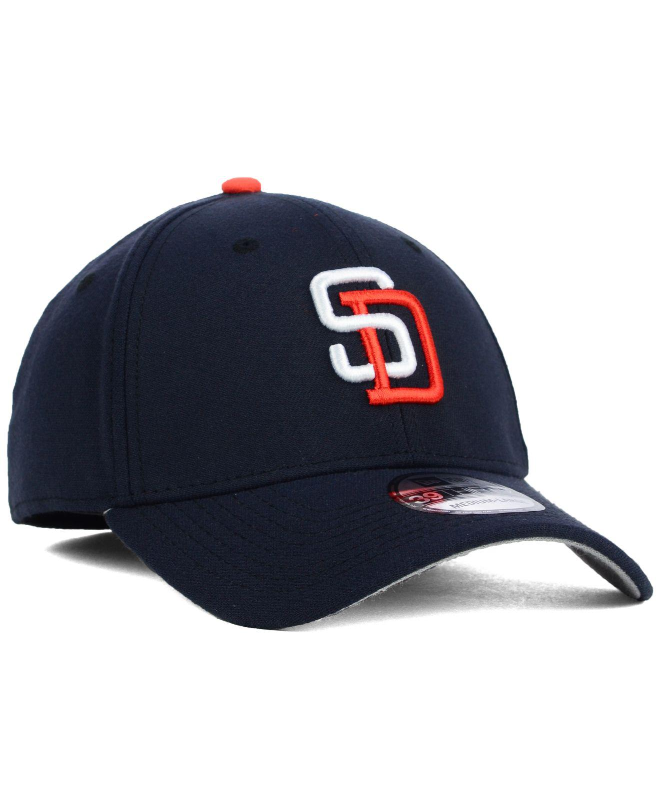 new arrival d2563 b266e ... San Diego Padres Core Classic 39thirty Cap for Men - Lyst. View  fullscreen