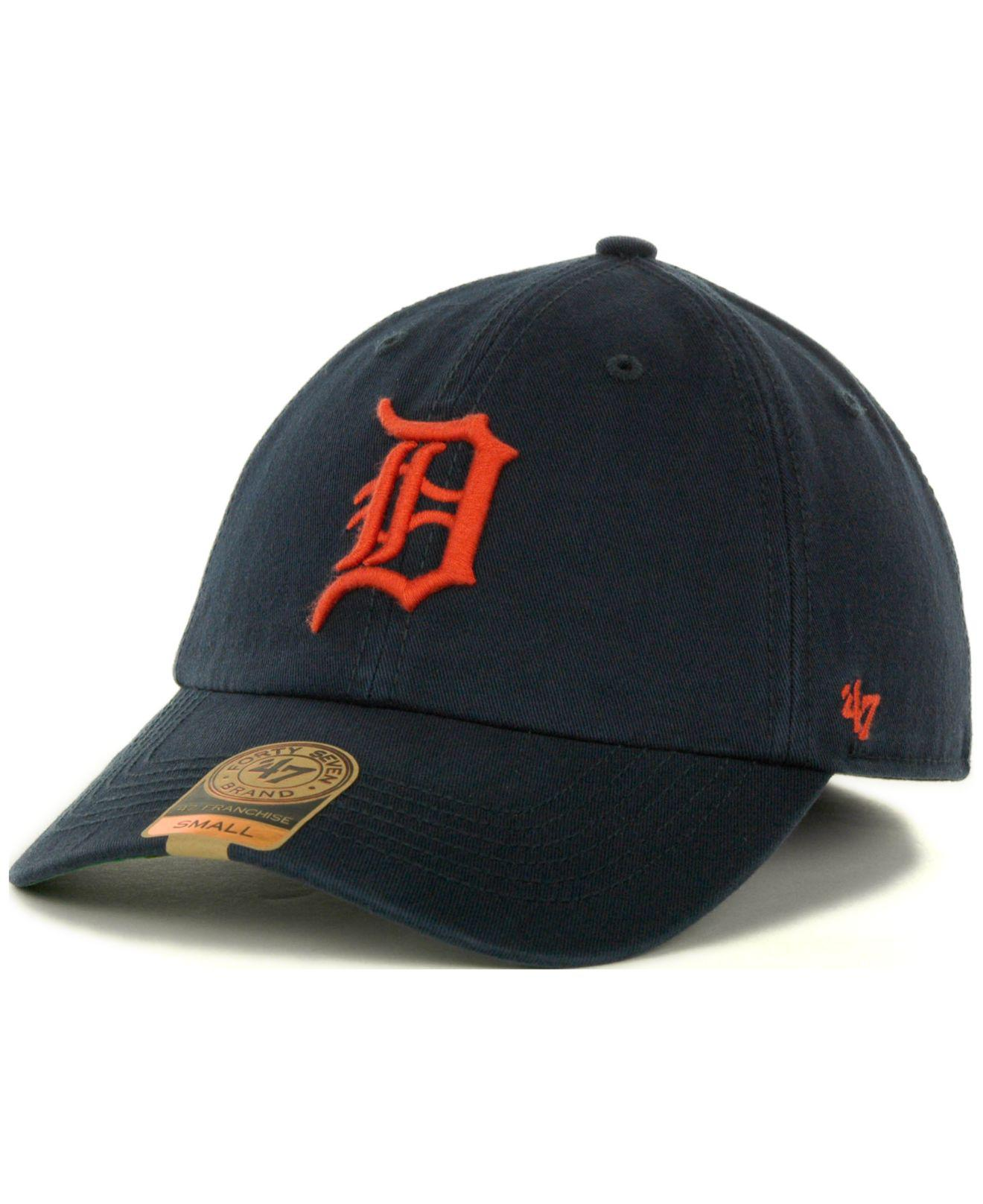 best authentic 064ad 8fdc7 ... new era mlb clubhouse jersey pop 9fifty snapback cap 278b493yhgh 35cb1  68f19  low cost 47 brand. mens blue detroit tigers franchise cap 338d0 4aa9b