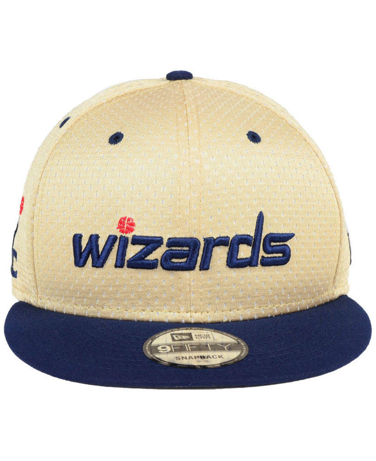 a2ce0ec3f7f2e Lyst - KTZ Washington Wizards Champagne 9fifty Snapback Cap in Blue ...