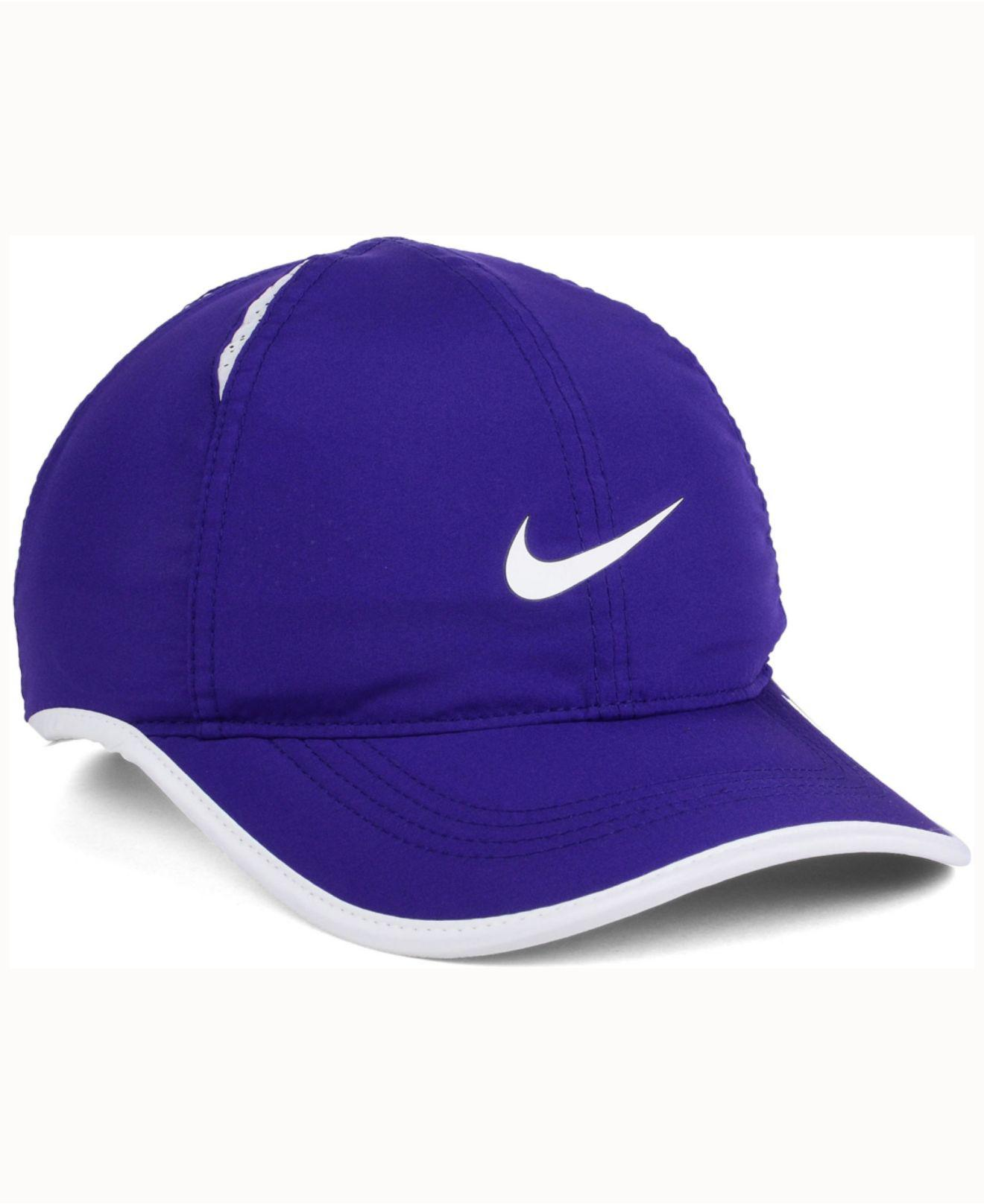 outlet store 50514 cb6b2 Lyst - Nike Tcu Horned Frogs Featherlight Cap in Purple for Men