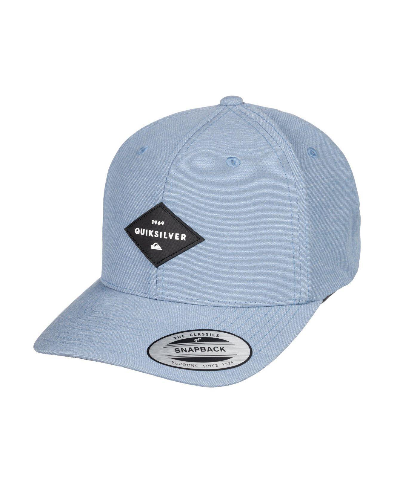innovative design bdf9b b6580 Quiksilver - Blue Union Heather Snapback Hat for Men - Lyst. View fullscreen