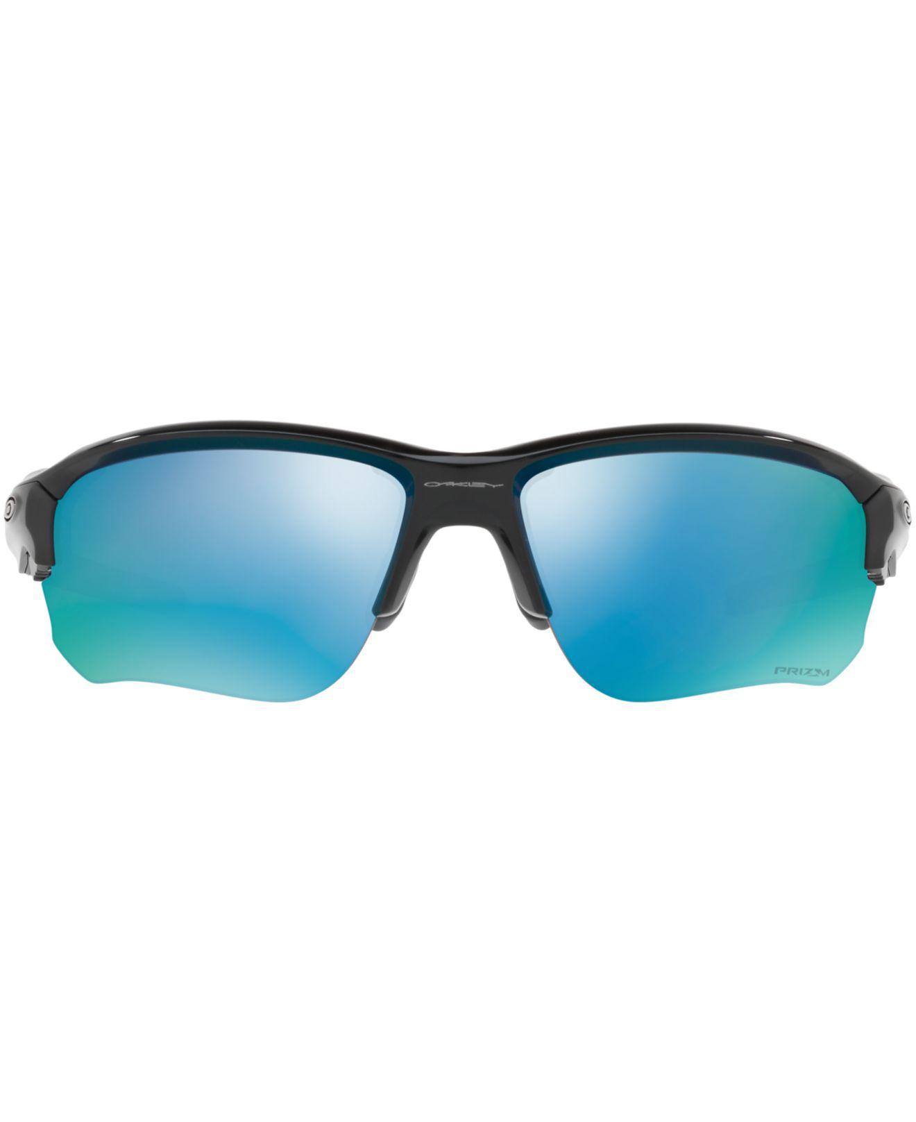 1cd46f57a4 Lyst - Oakley Flak Draft Prizm Deep Water Sunglasses