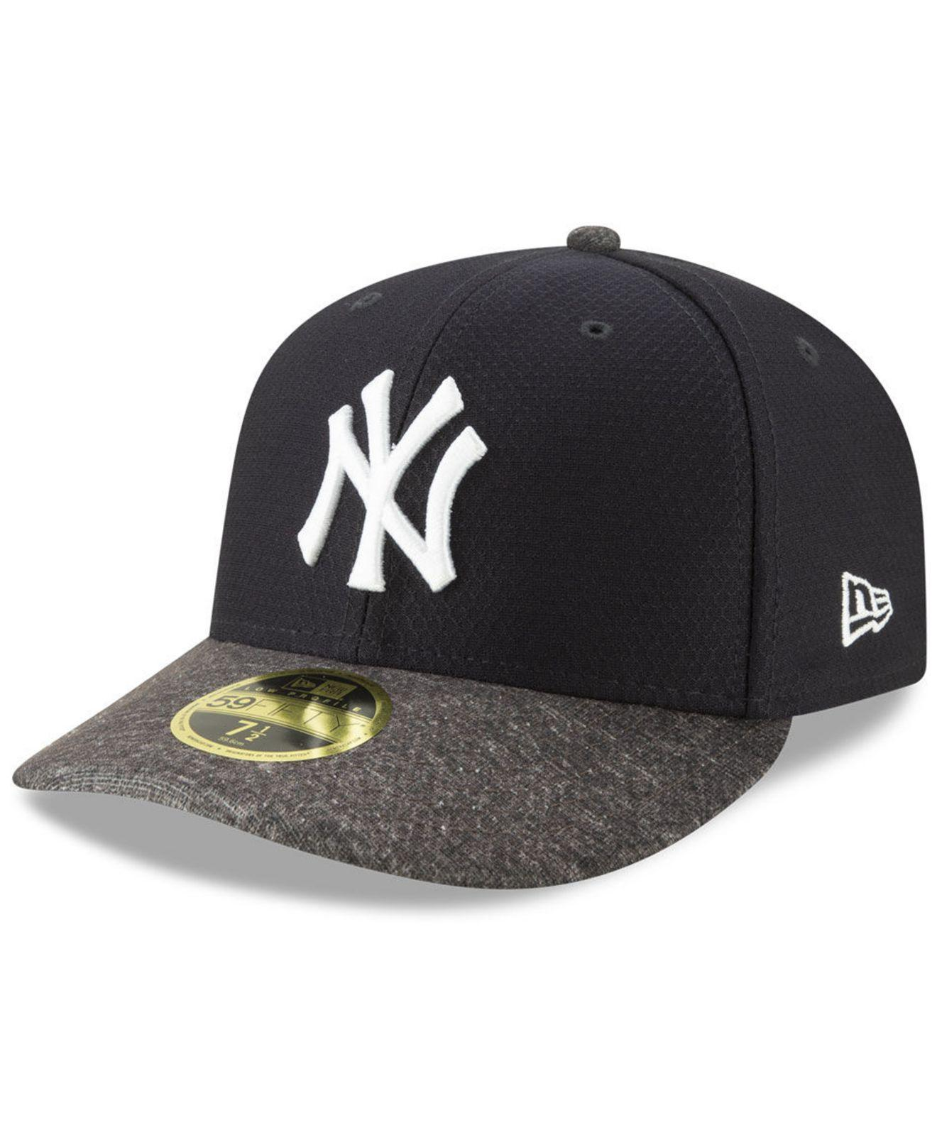 ade3c5163fa KTZ. Men s Blue New York Yankees Spring Training 59fifty-fitted Low Profile  Cap