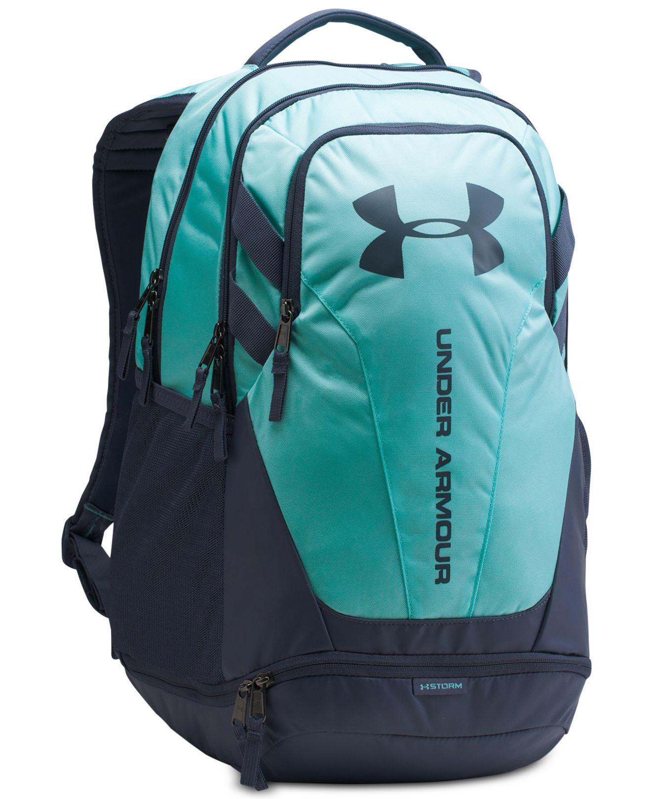 c3bde57656b Under Armour Hustle 3.0 Backpack in Blue for Men - Lyst
