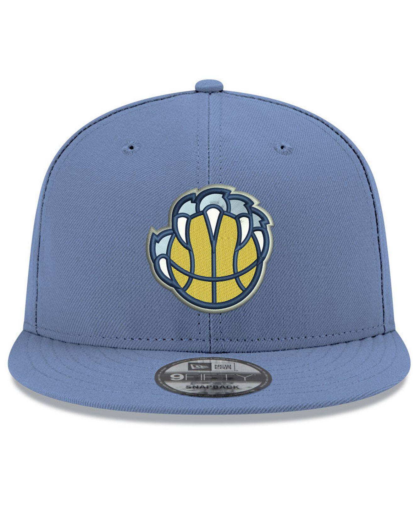 reputable site 1614b 66ad2 Lyst - KTZ Memphis Grizzlies Basic 9fifty Snapback Cap 2018 in Blue for Men