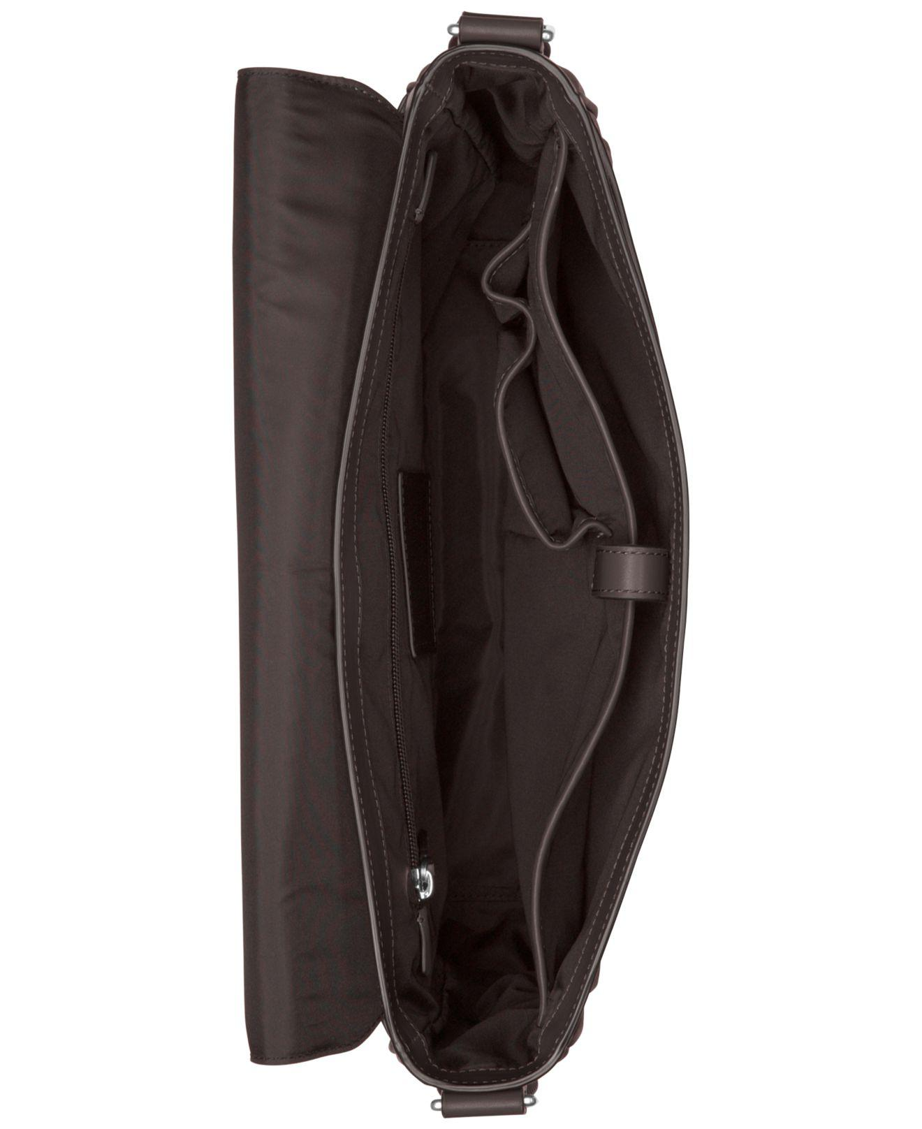 4a355493a4c0 Michael kors Men s Odin Resina Large Messenger Bag in Brown for Men ...