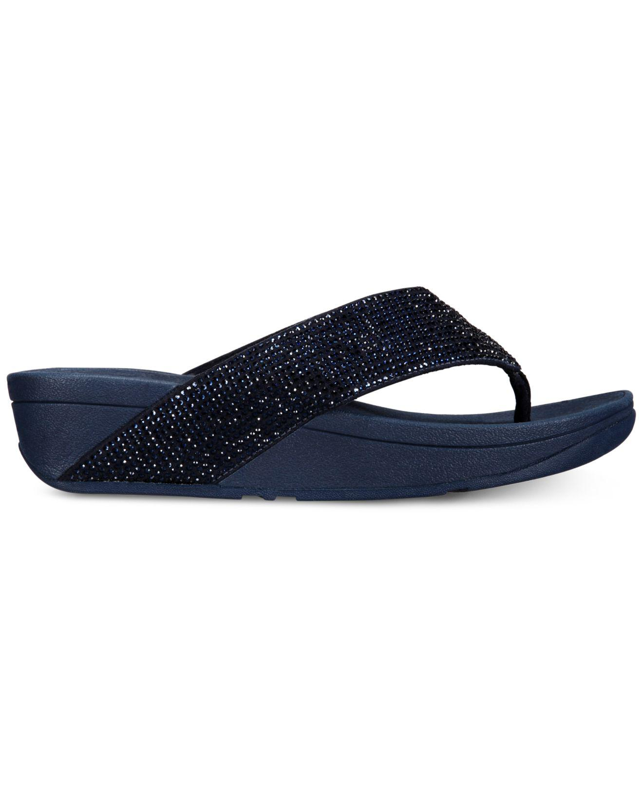 3f4023678 Lyst - Fitflop Ritzy Toe-thong Sandals in Blue