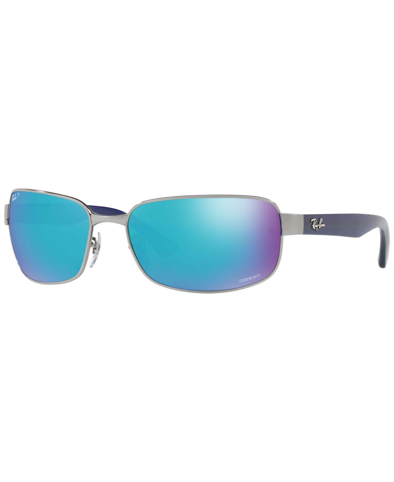 40360e68e97 Ray-Ban. Men s Blue Polarized Sunglasses